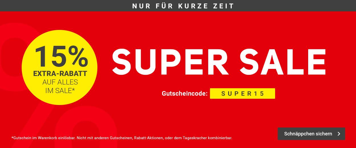 Super Sale -15%