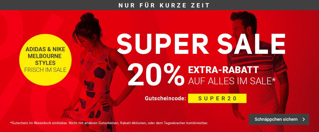 Super Sale -20%