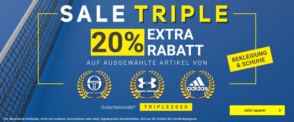 20% Sale Triple