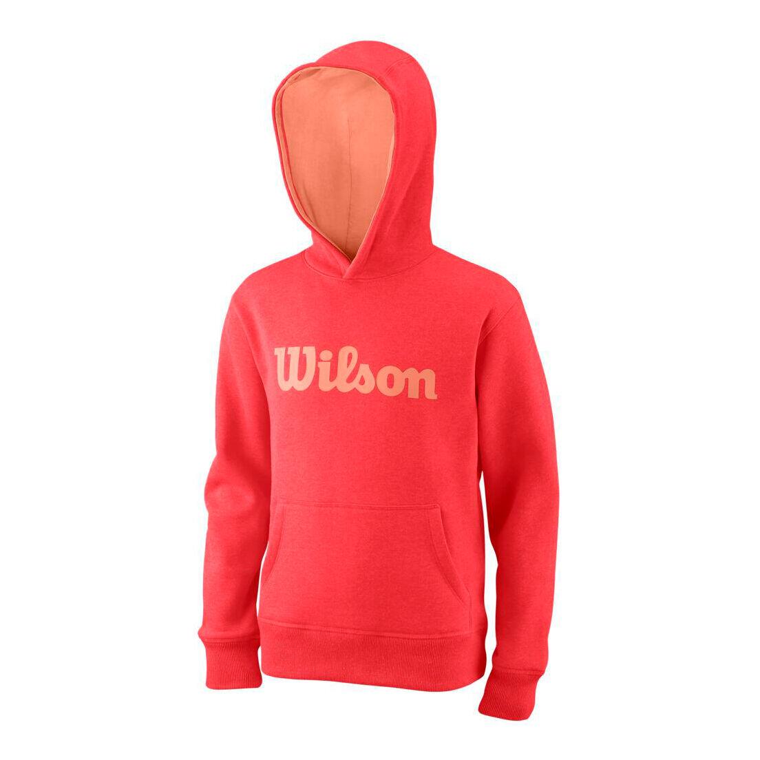 Wilson Script Cotton Po Hoody blau Kapuzenpullover UVP 50,00€ NEU