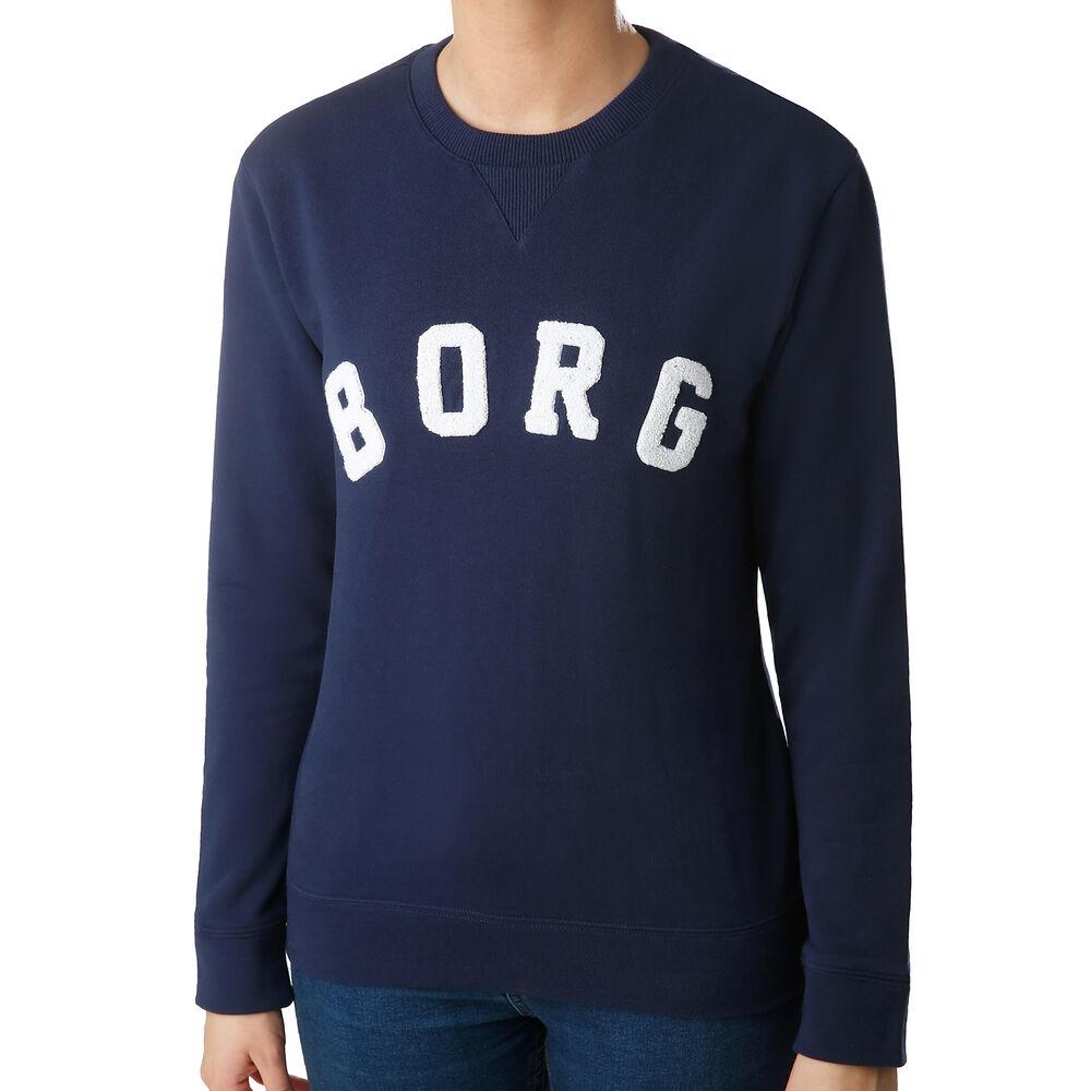 Borg Crew Sweatshirt Damen