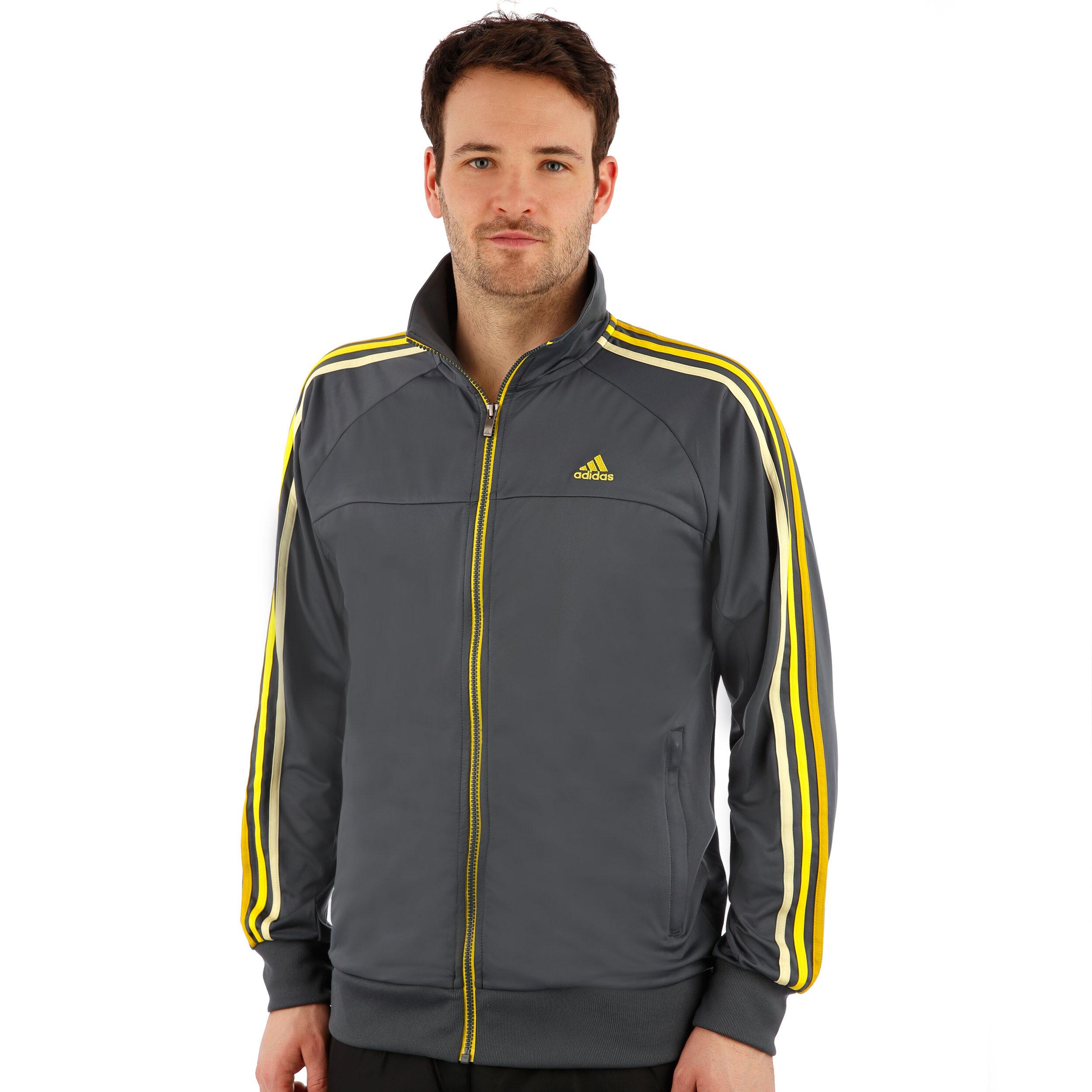 adidas Herren Trainingsjacke Essentialss 3 Stripes Light