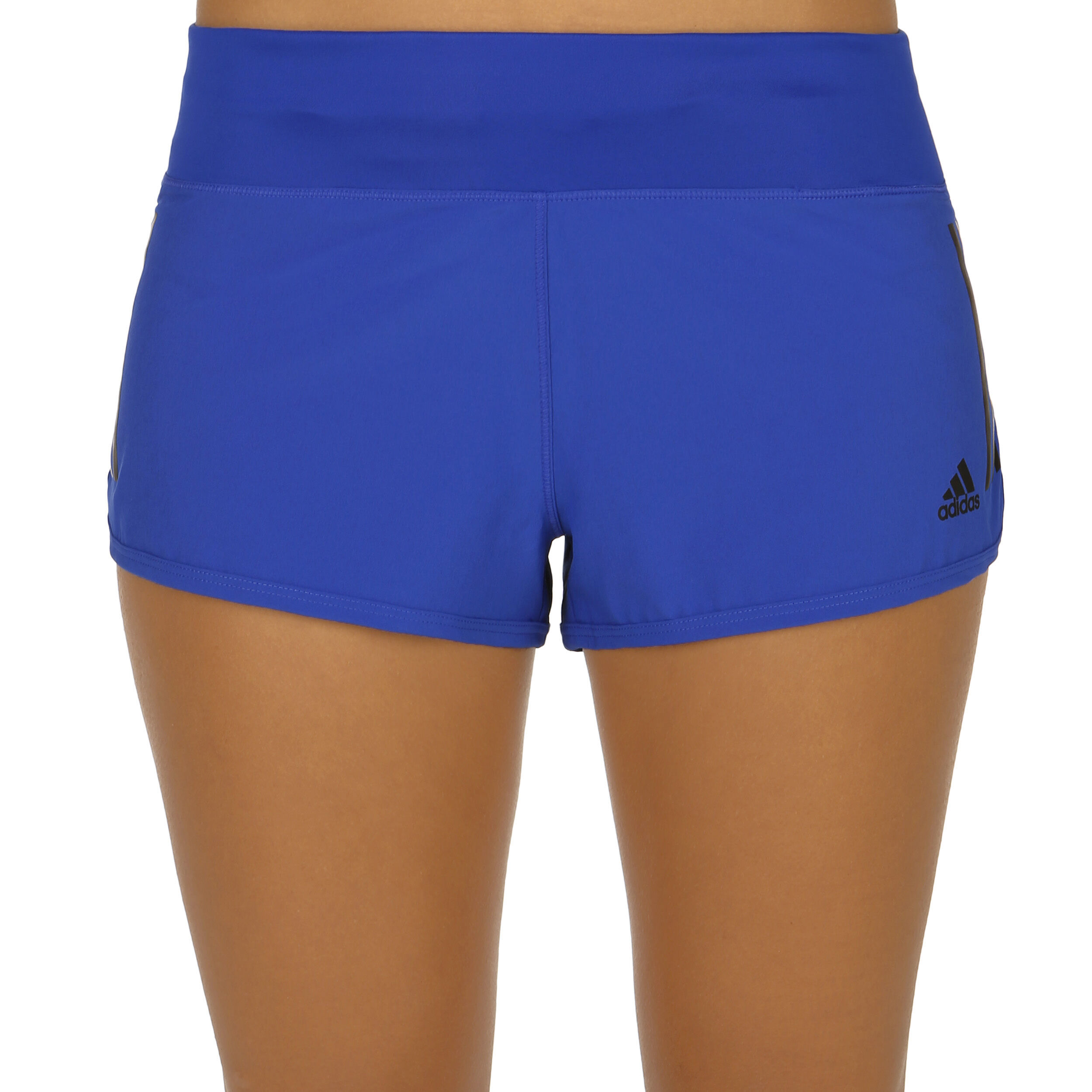 adidas Gym 3 Stripes Shorts Damen - Blau, Schwarz online ...