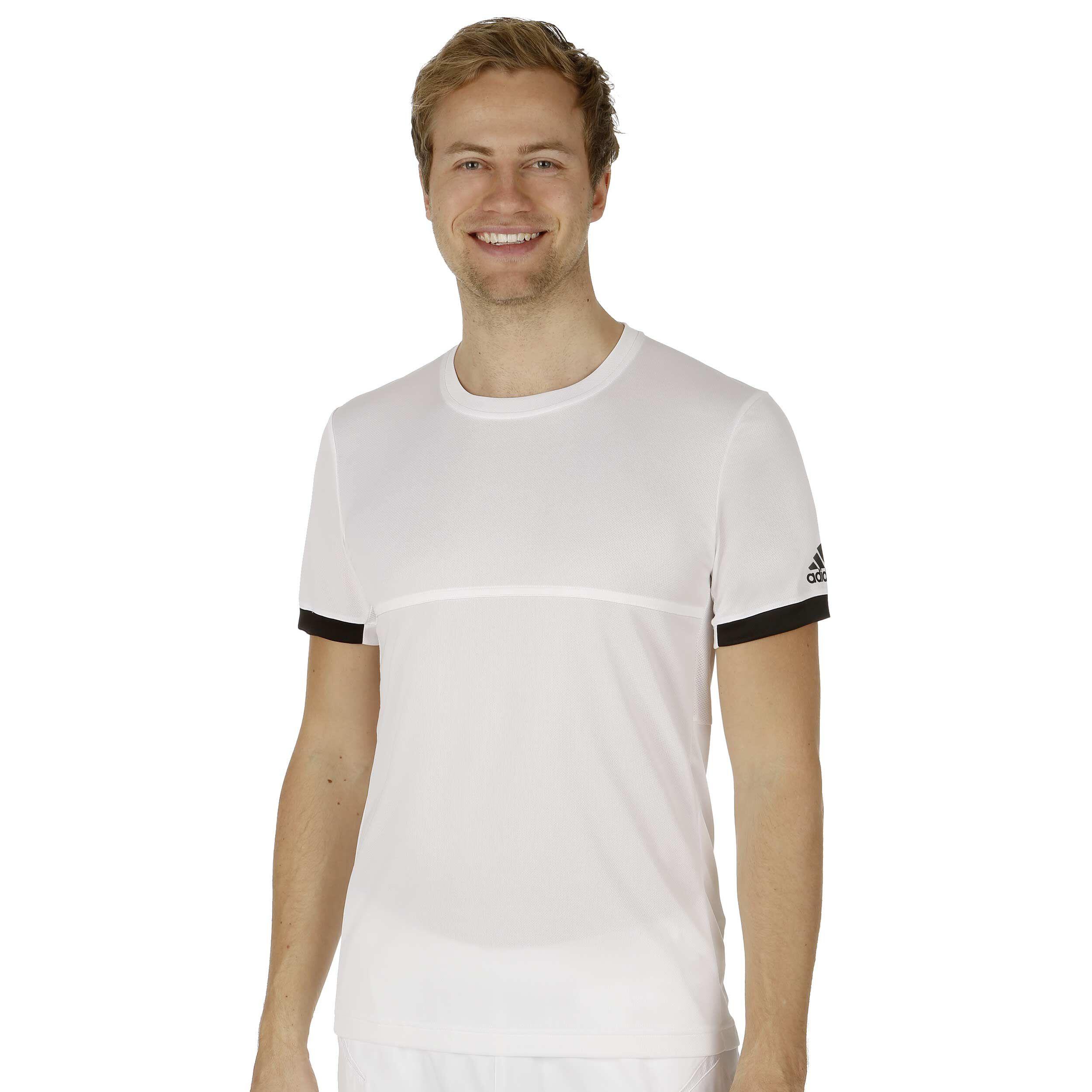adidas Climacool T16 Shortsleeve T Shirt Herren Weiß