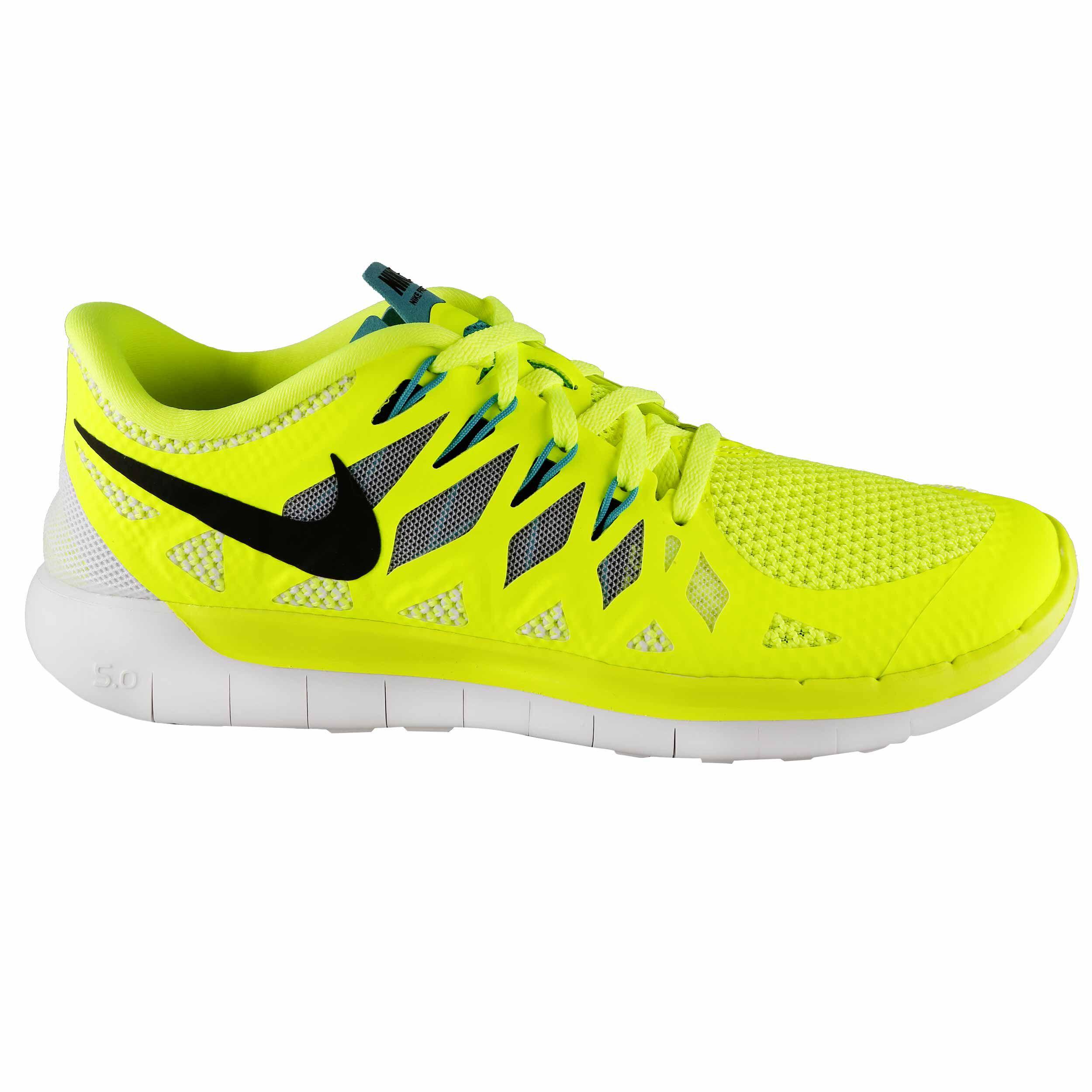 online 0Sneaker Nike 5 Free NeongelbSchwarz Damen shtdrQxC