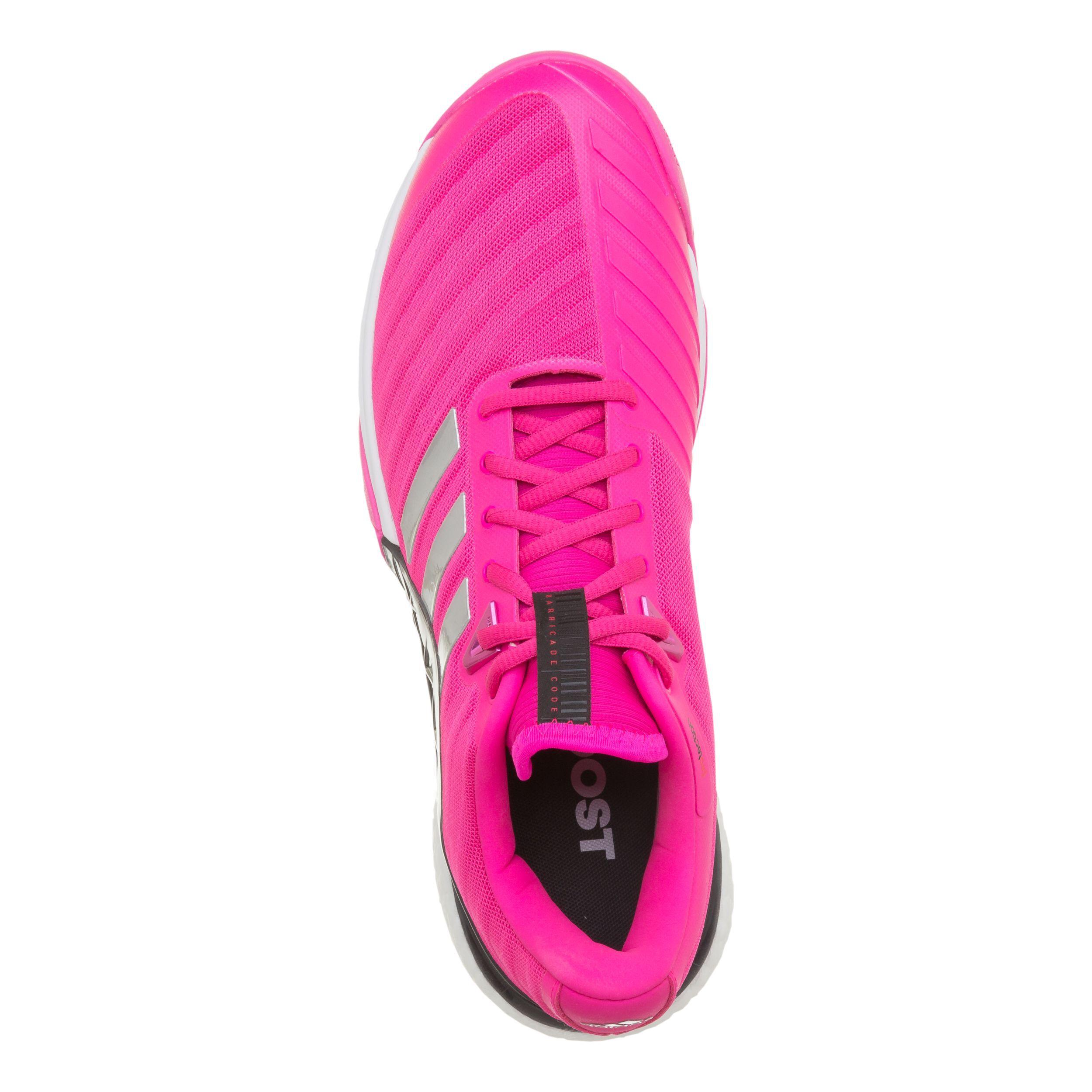 adidas barricade 2018 boost pink