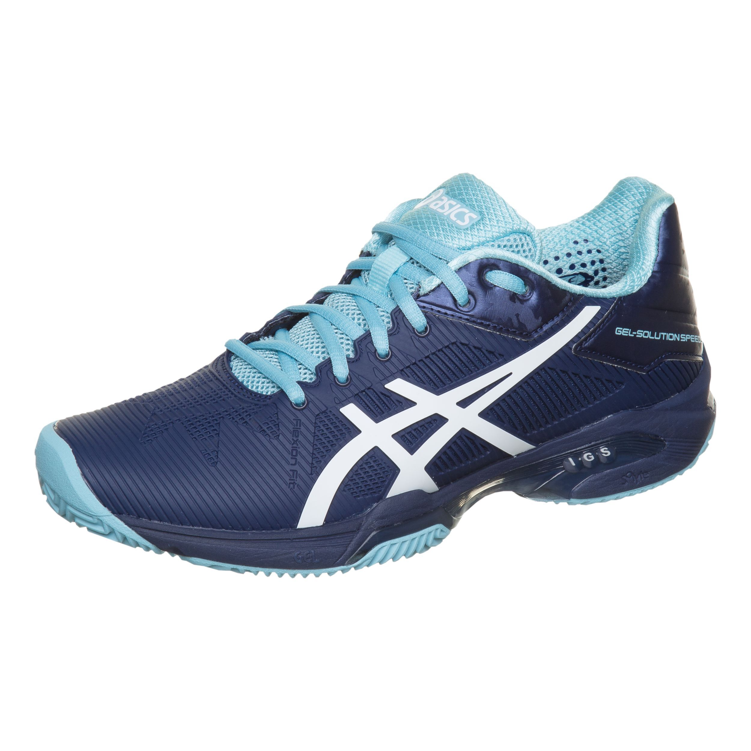 ASICS GEL Solution Speed 3 Clay Tennis women indigo blue