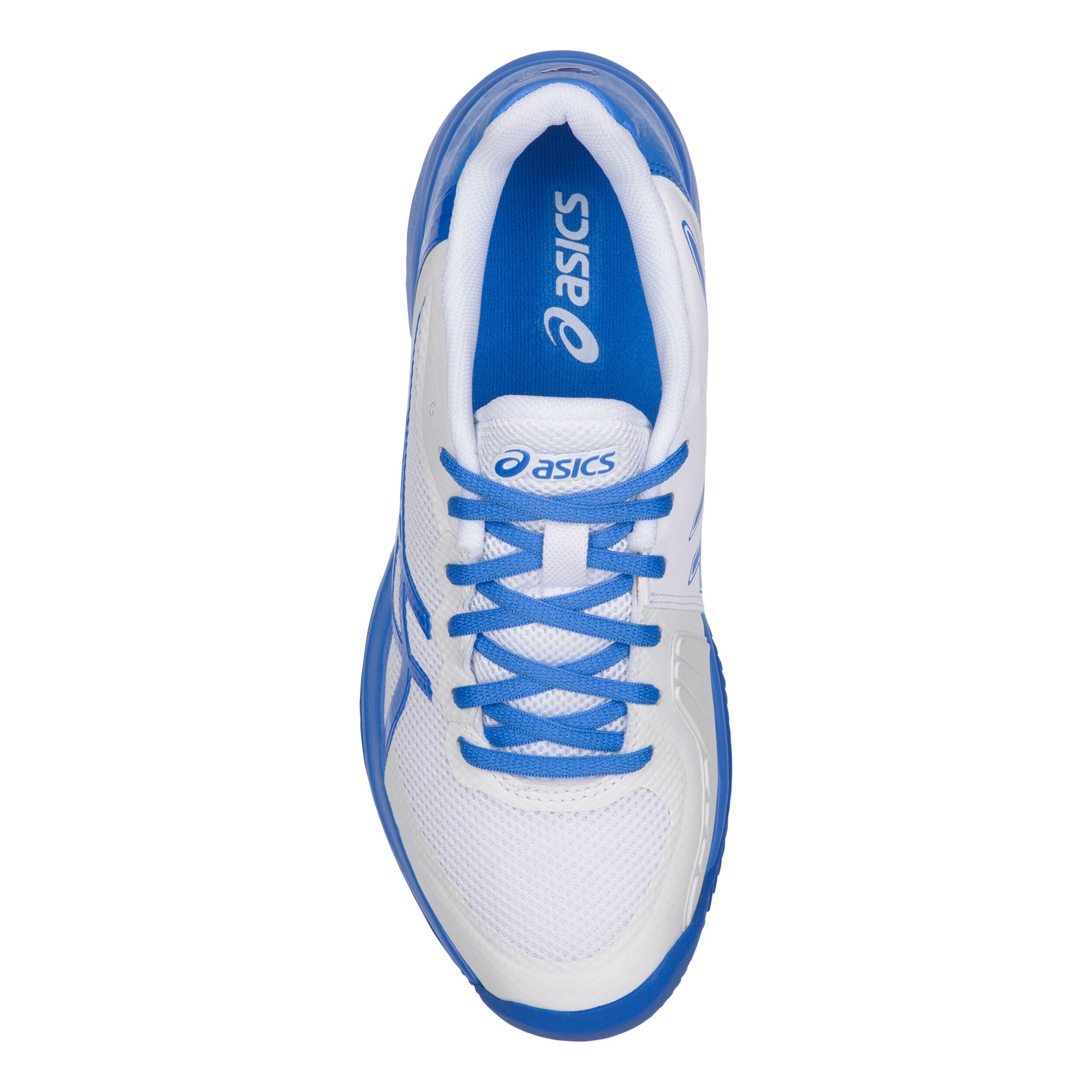 Asics Gel Court Speed Clay Sandplatzschuh Damen Weiß, Blau