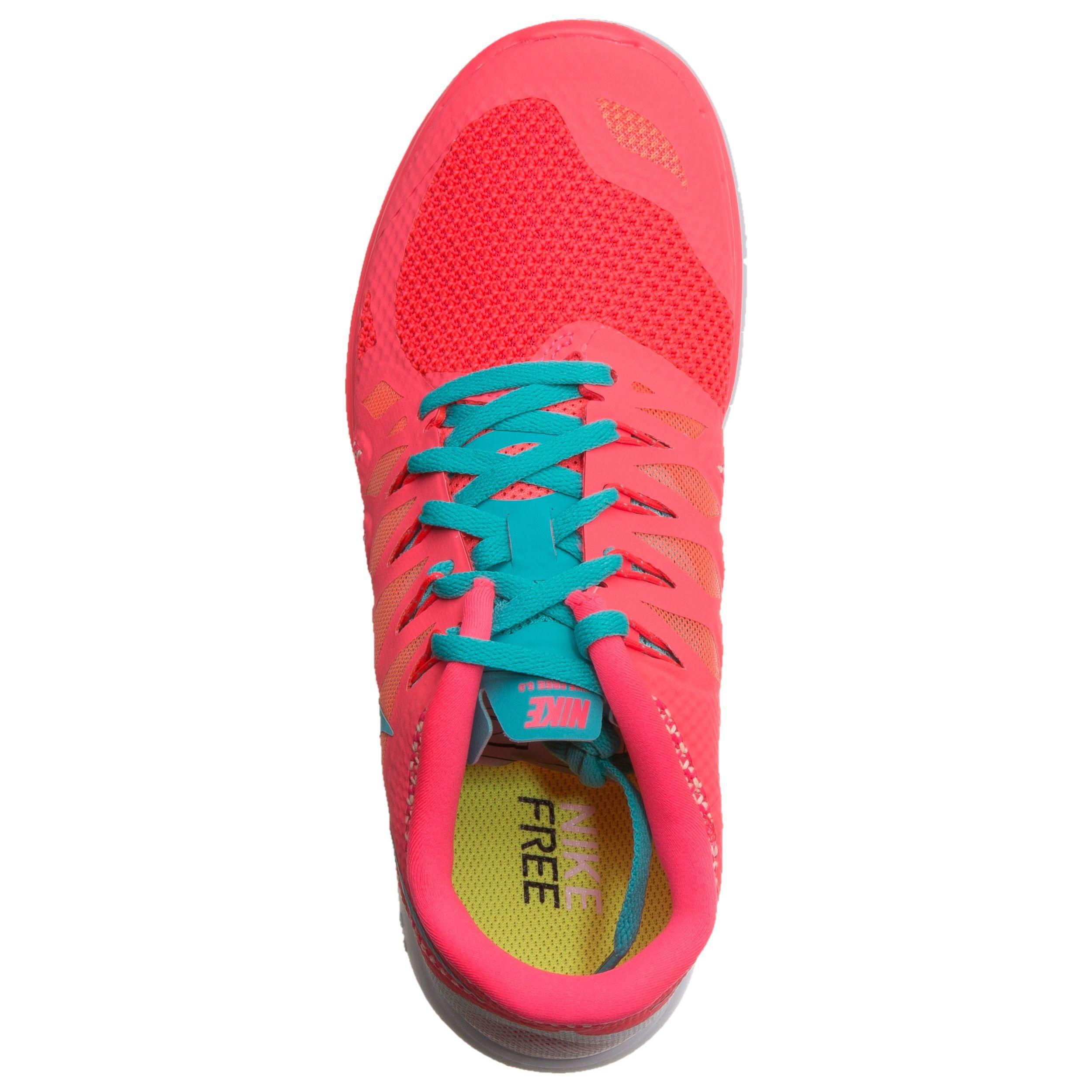 Nike Free 5.0+ Sneaker Damen Pink, Türkis online kaufen