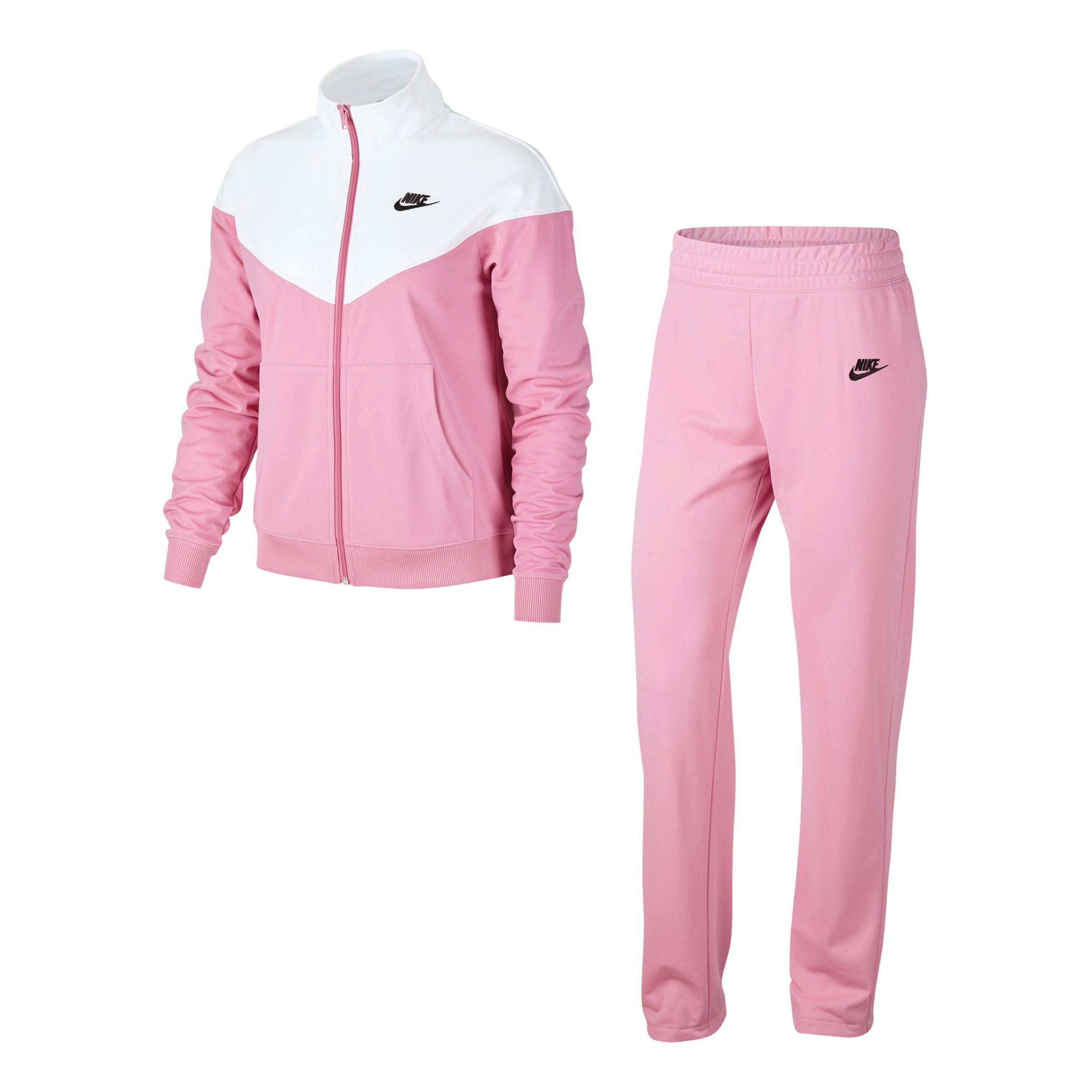 Nike Sportswear Trainingsanzug Damen Rosa, Weiß