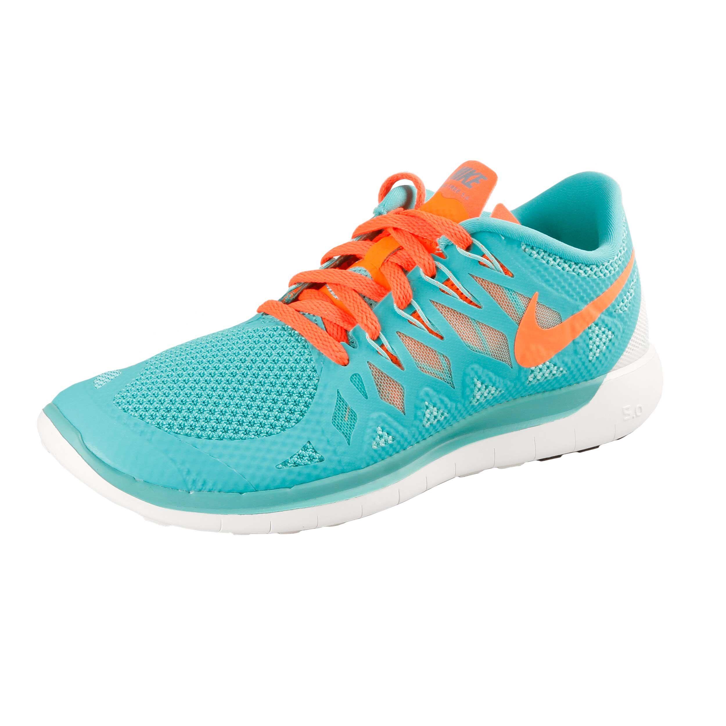Free Damen TürkisOrange Nike 5 0Sneaker 1KJlFcT3