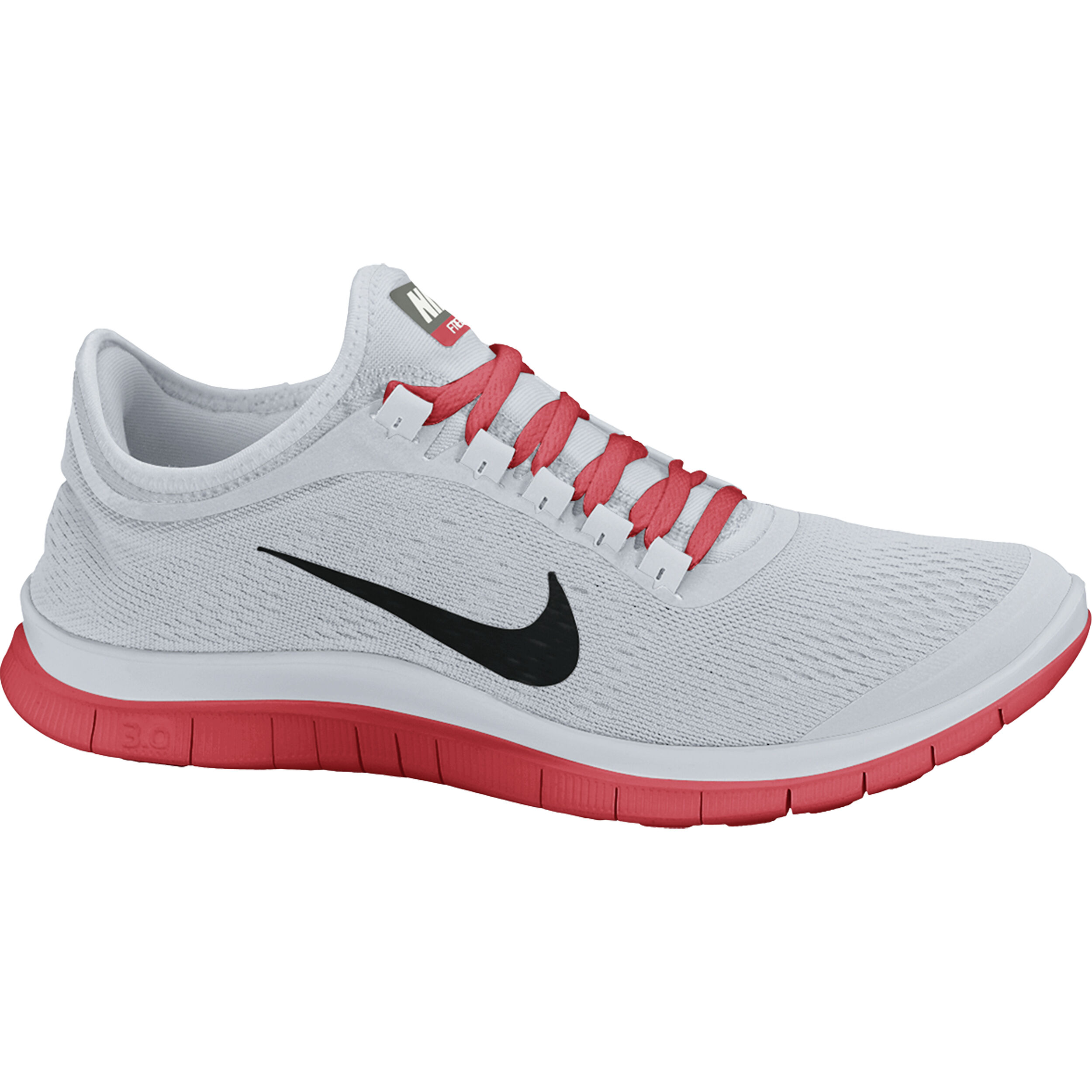 Nike Free 3.0 V5 Natural Running Schuh Herren Oliv, Rot