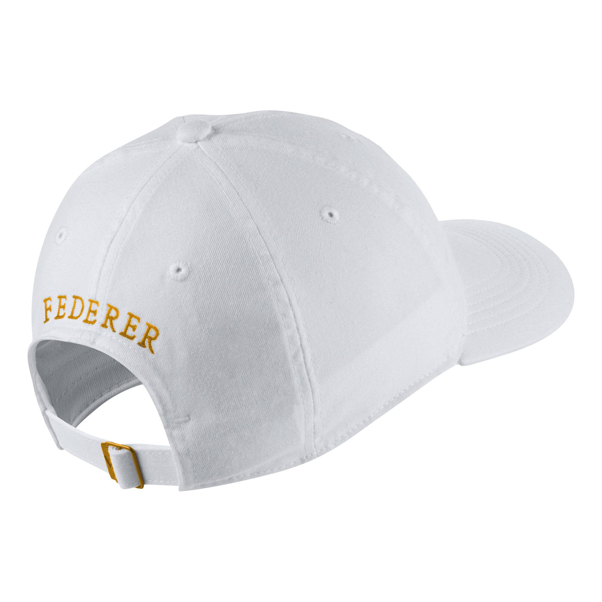 Nike Roger Federer 20th Celebration Cap - Weiß, Gold online kaufen