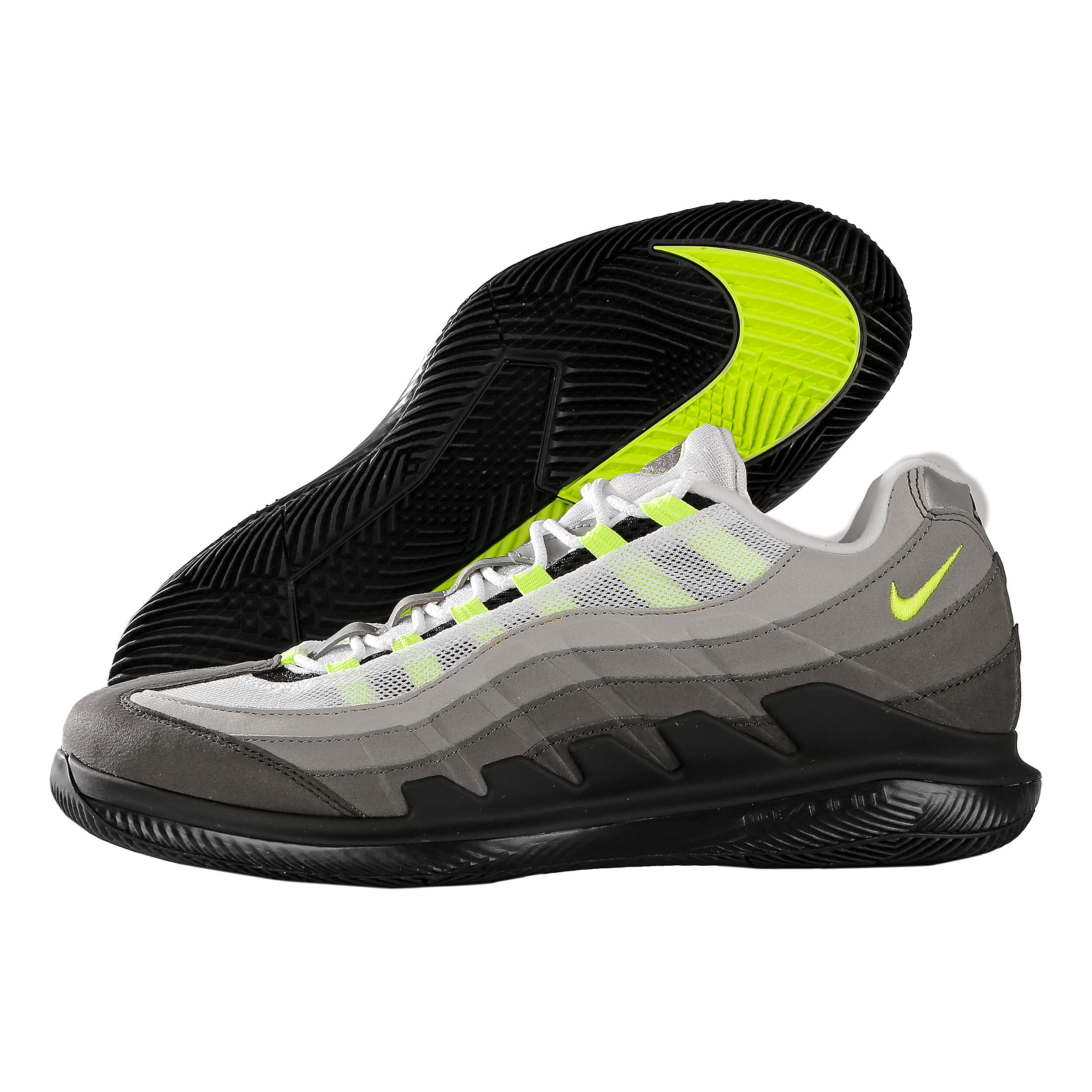 Nike Allcourtschuh 95 Neon Vapor Max X Roger Federer Air n8kXNw0OP
