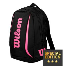 EMEA Reflective Backpack black/pink