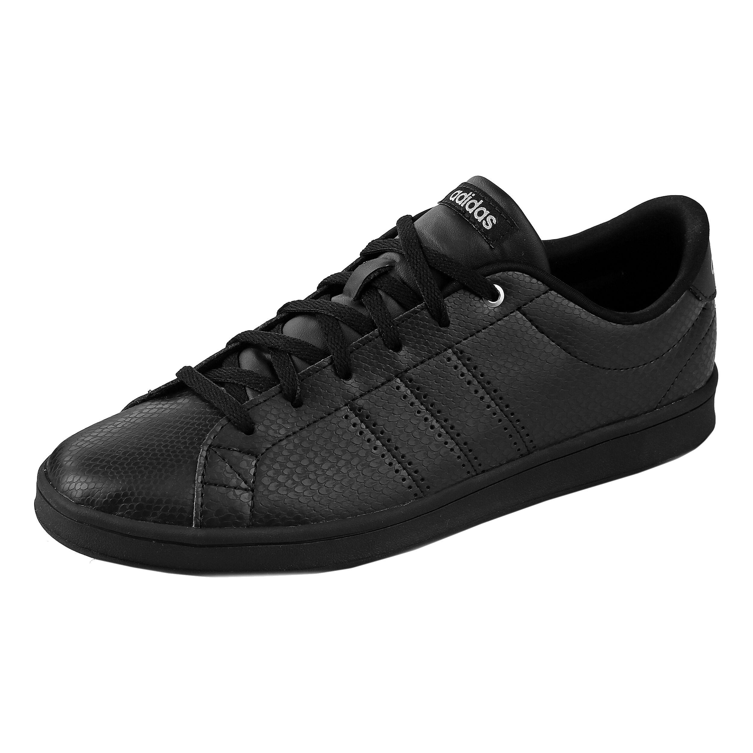 adidas Advantage Clean QT Sneaker Damen - Schwarz, Silber