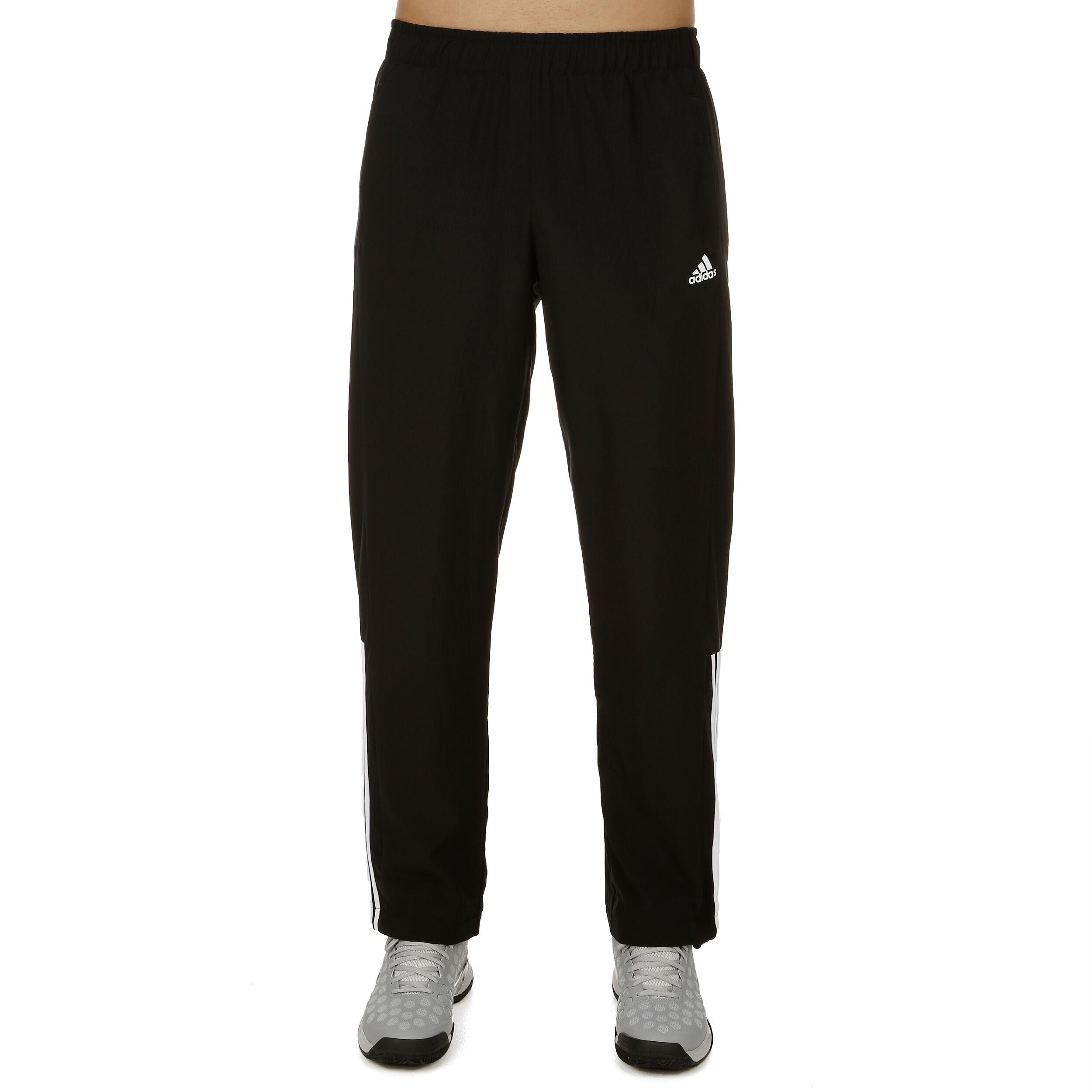 adidas Essentials 3 Stripes Mid Woven Trainingshose Herren