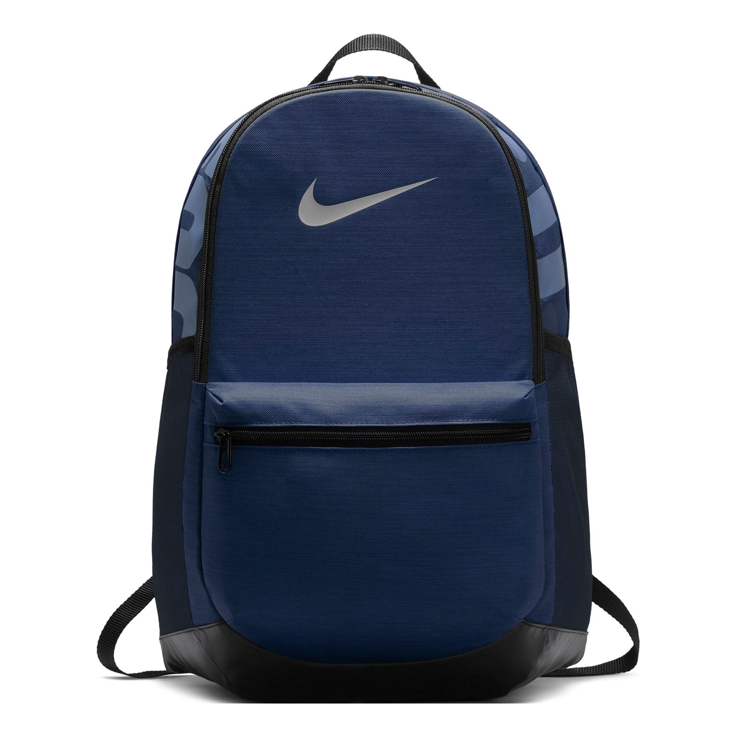 Nike Brasilia Training Rucksack Mittel Dunkelblau, Schwarz