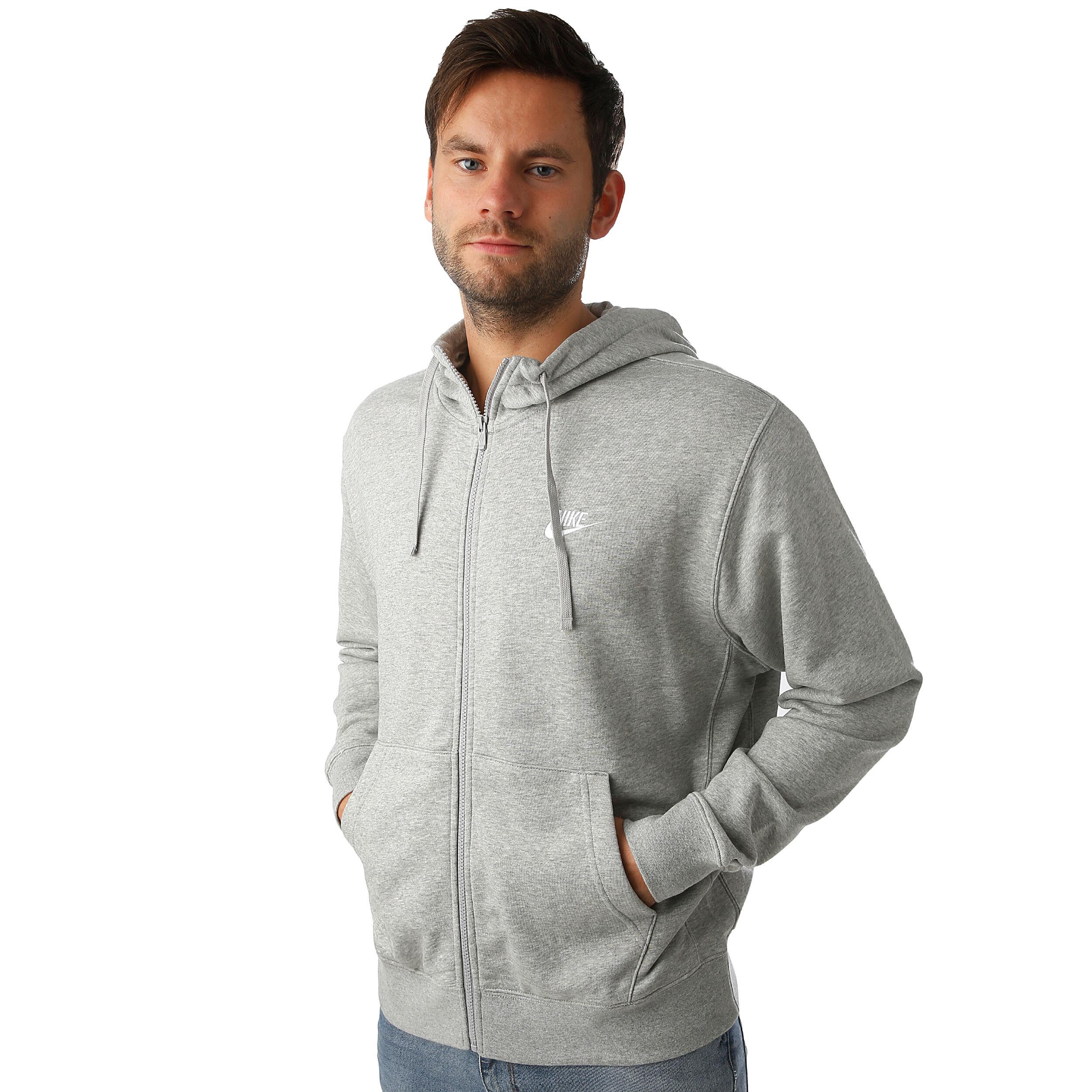 Nike Sportswear Club French Terry Full Zip Sweatjacke Herren