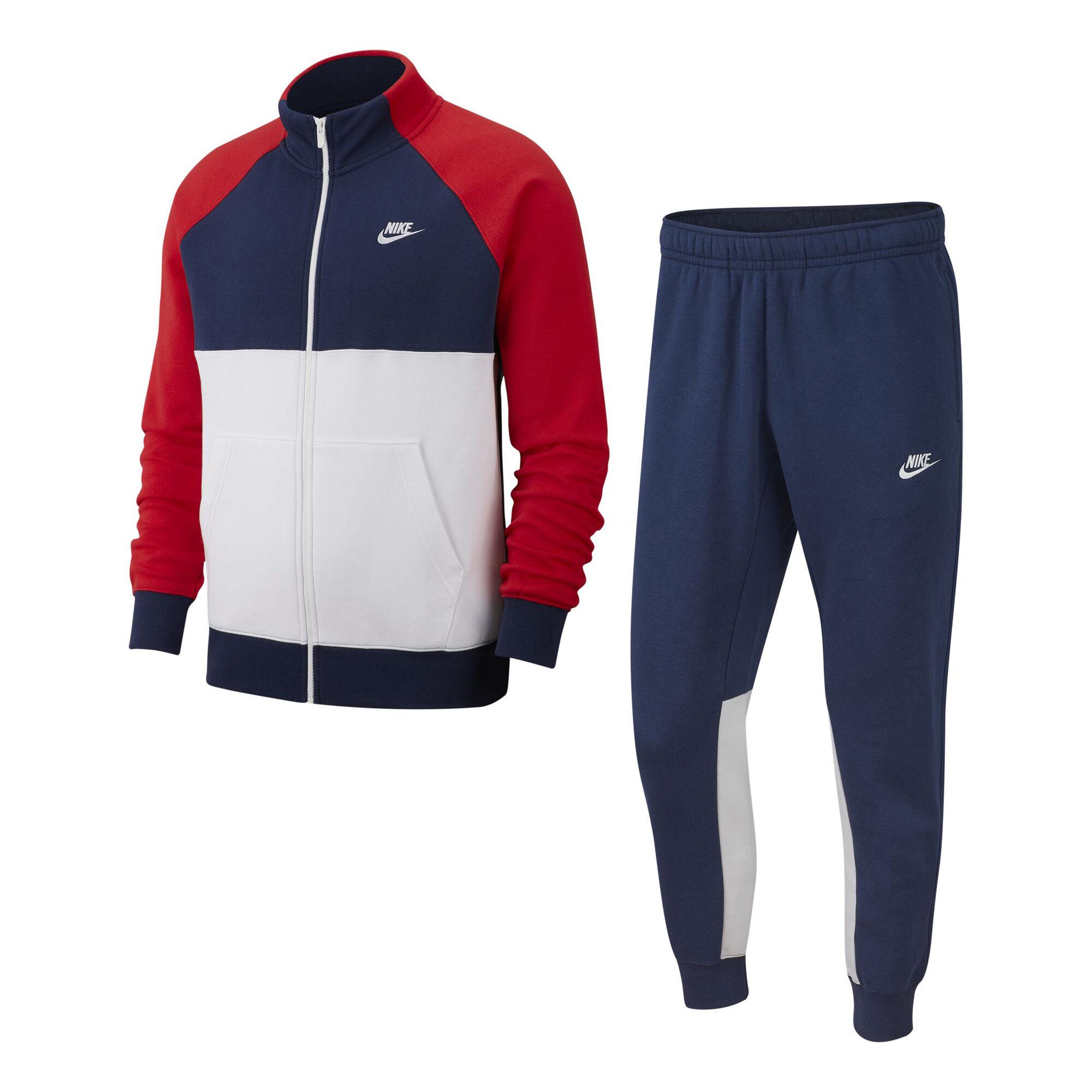 pasta Agricultura Popa  Nike Sportswear Trainingsanzug Herren - Dunkelblau, Weiß online kaufen |  Tennis-Point