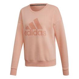 Must Haves Badge of Sport Crew Sweatshirt Women