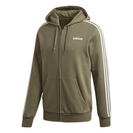 Essentials 3-Stripes Full-Zip Fleece Men