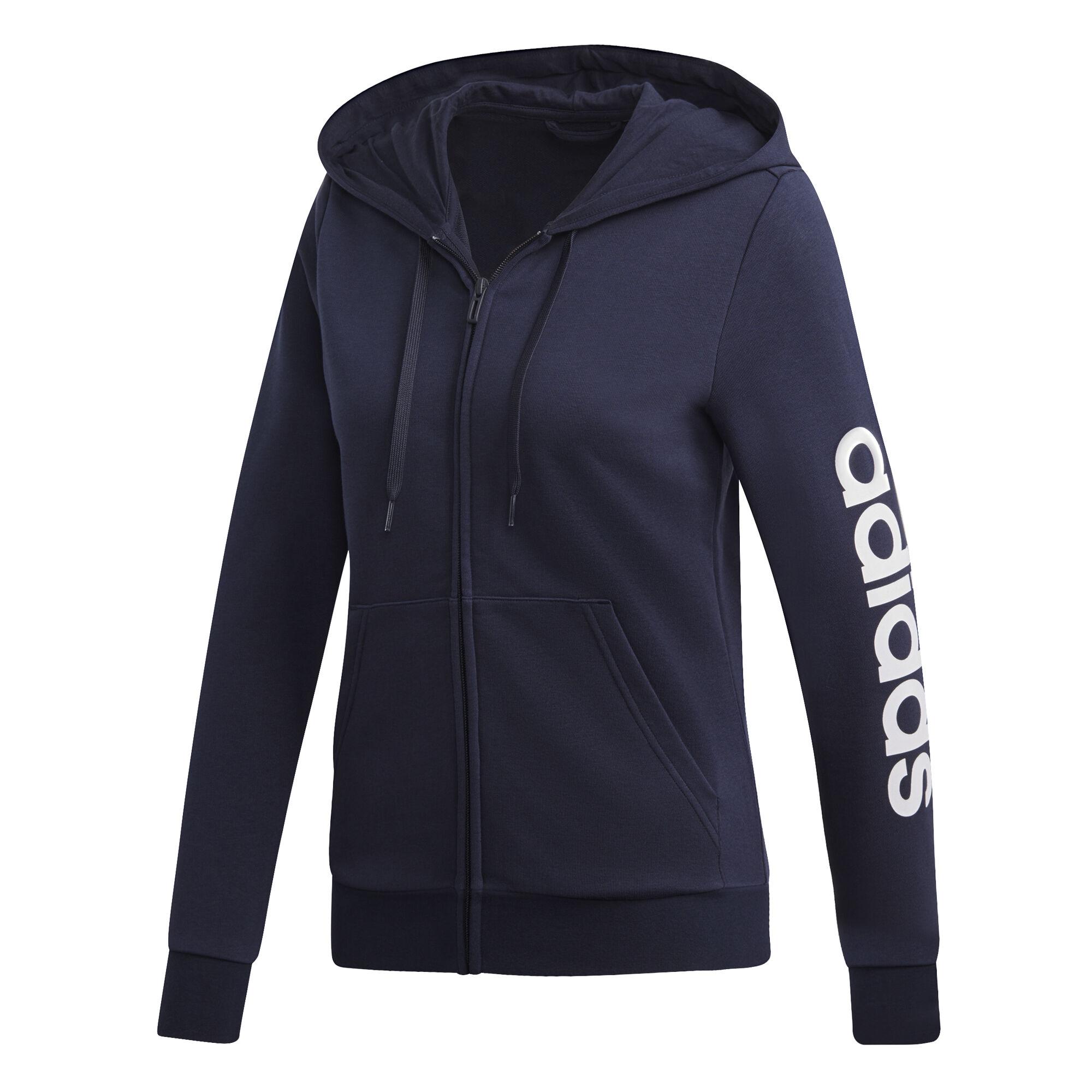 adidas Essentials Linear Full Zip Sweatjacke Damen