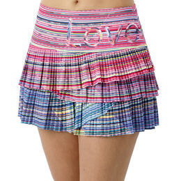 Love Line Pleated Scallop Skirt Women