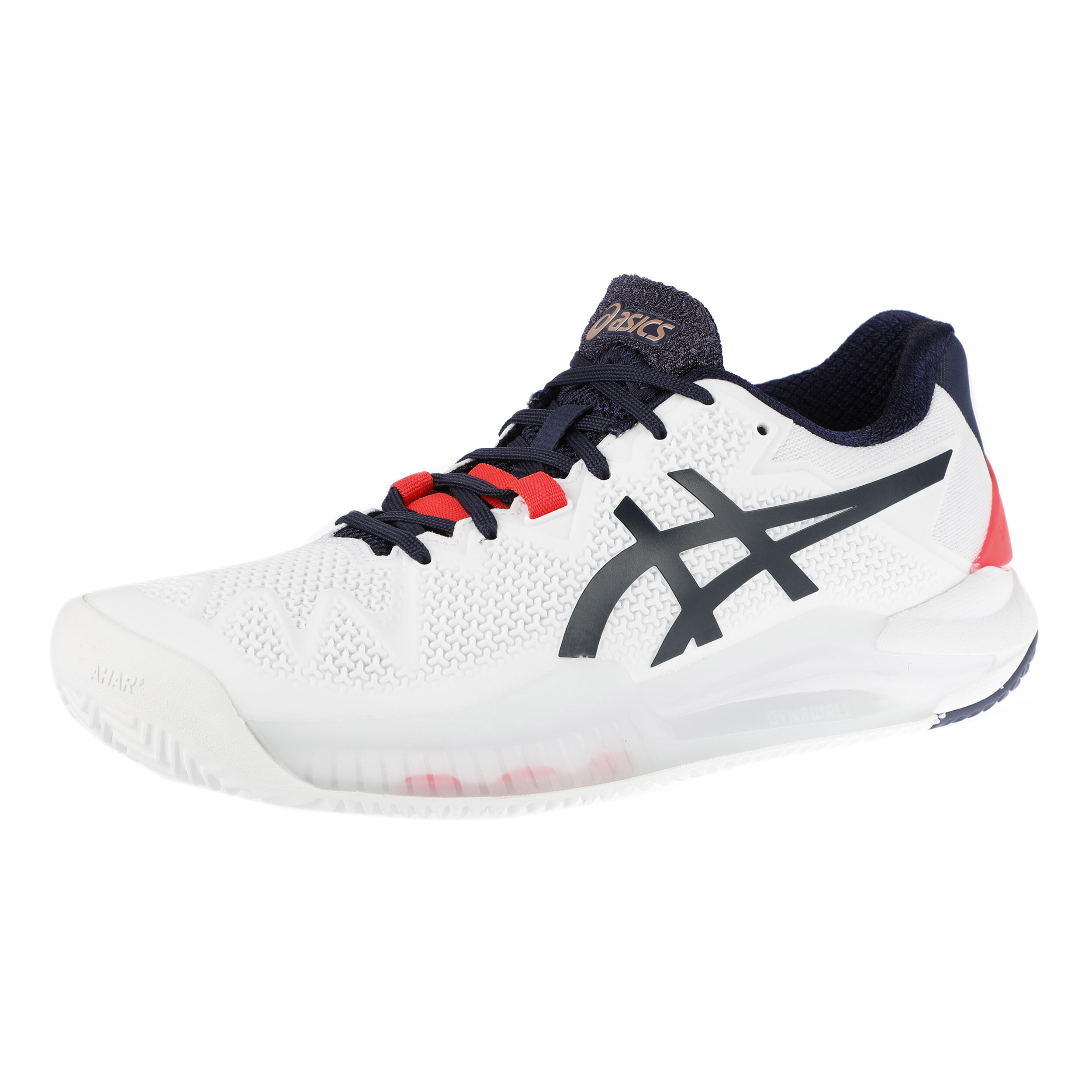Asics Gel-Resolution 8 Clay Sandplatzschuh Damen - Weiß ...