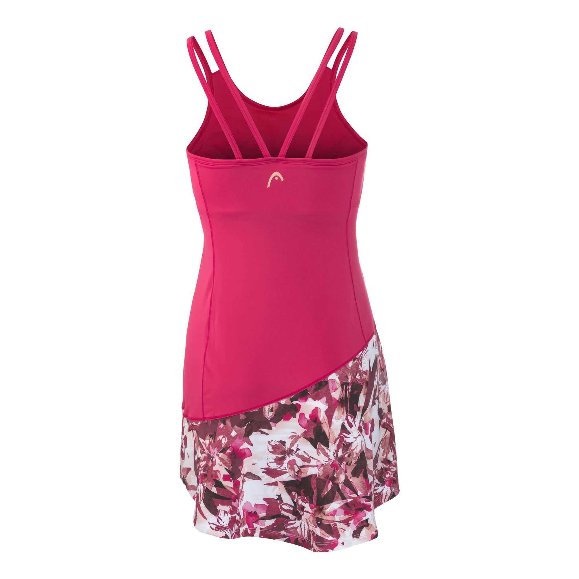HEAD Vision Graphic Kleid Damen - Koralle, Weiß online ...