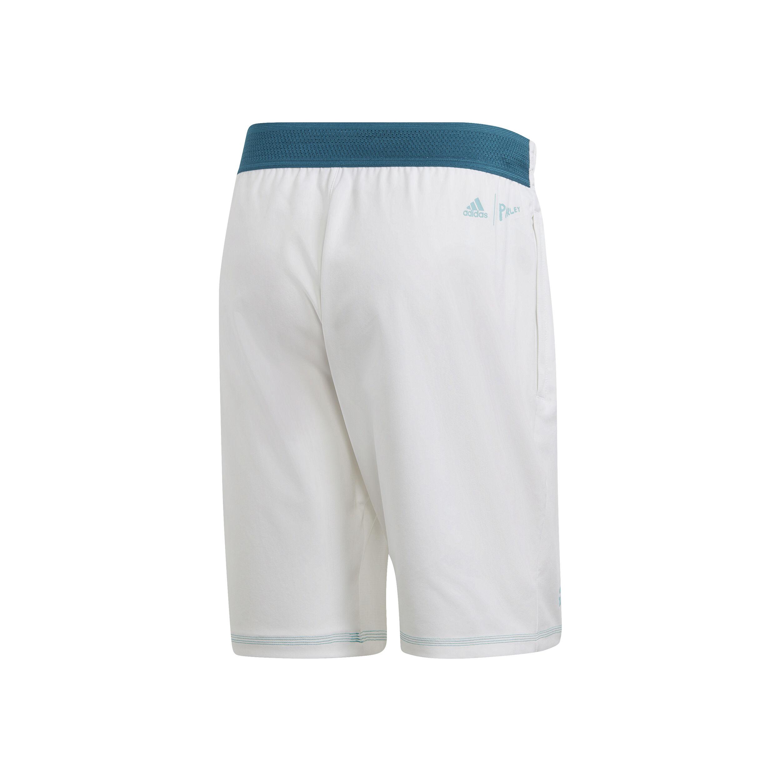 adidas Parley Shorts Herren Weiß, Petrol online kaufen