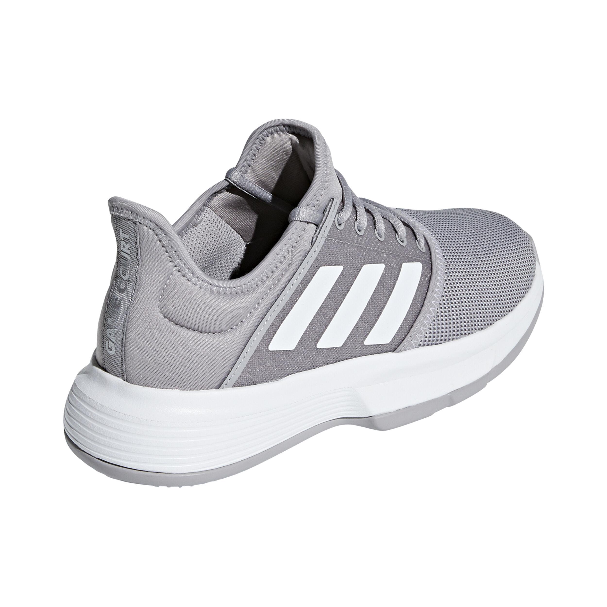 adidas Game Court Allcourtschuh Damen - Hellgrau, Grau ...
