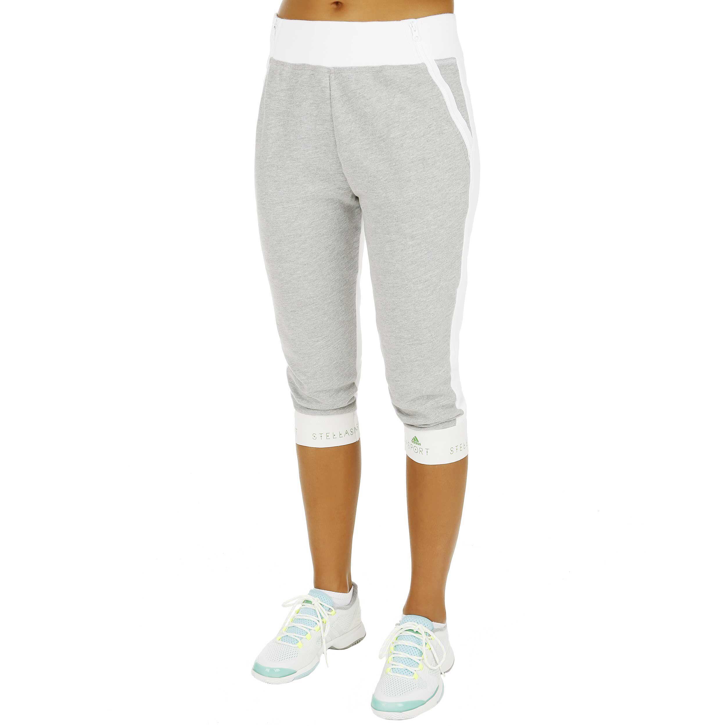 adidas Stellasport 34 Sweat Pant Capri Hose Damen Weiß