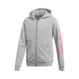 Essentials Linear Full-Zip Hoodie Girls