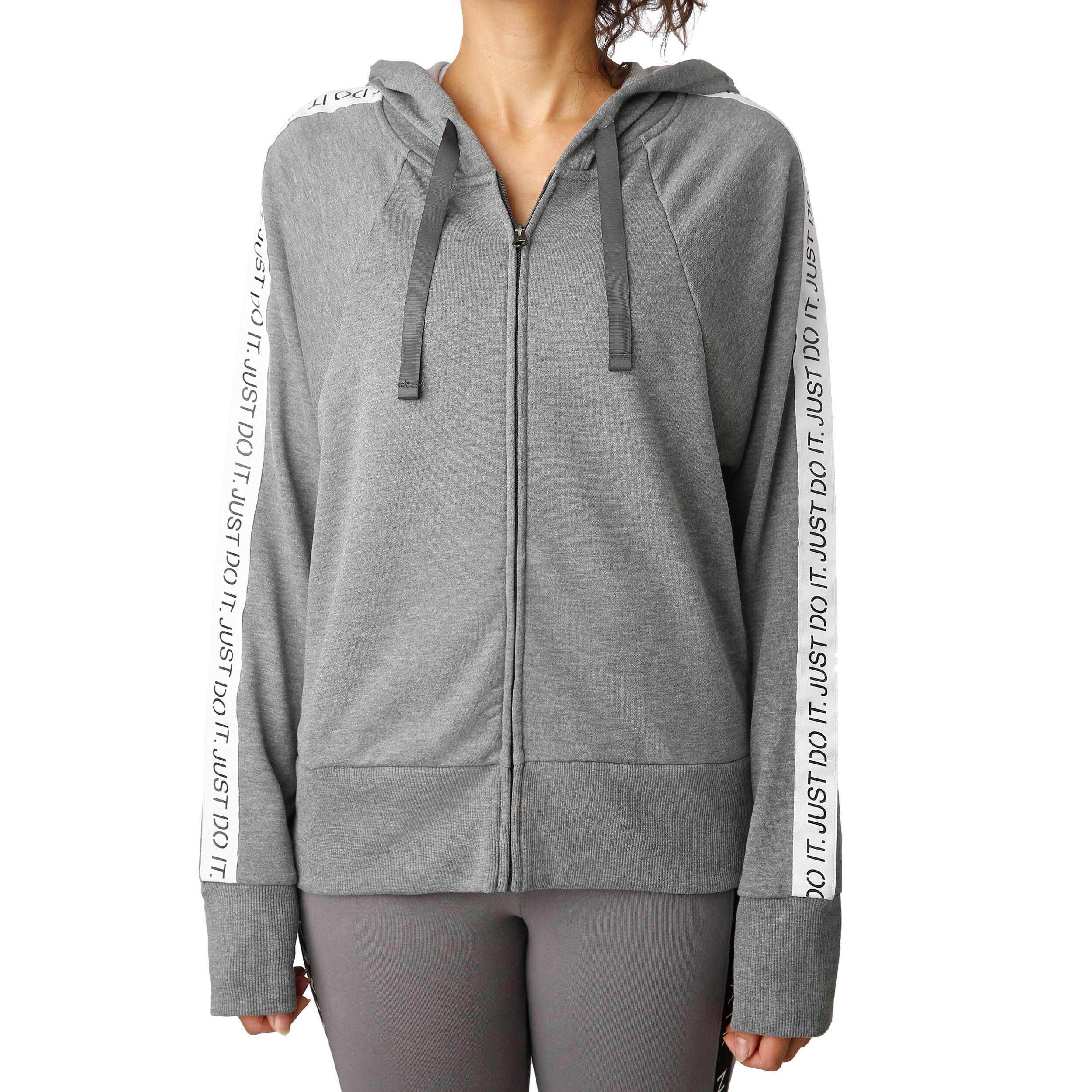 Nike Dri Fit Get Fit Fleece Damen Grau, Dunkelgrau online