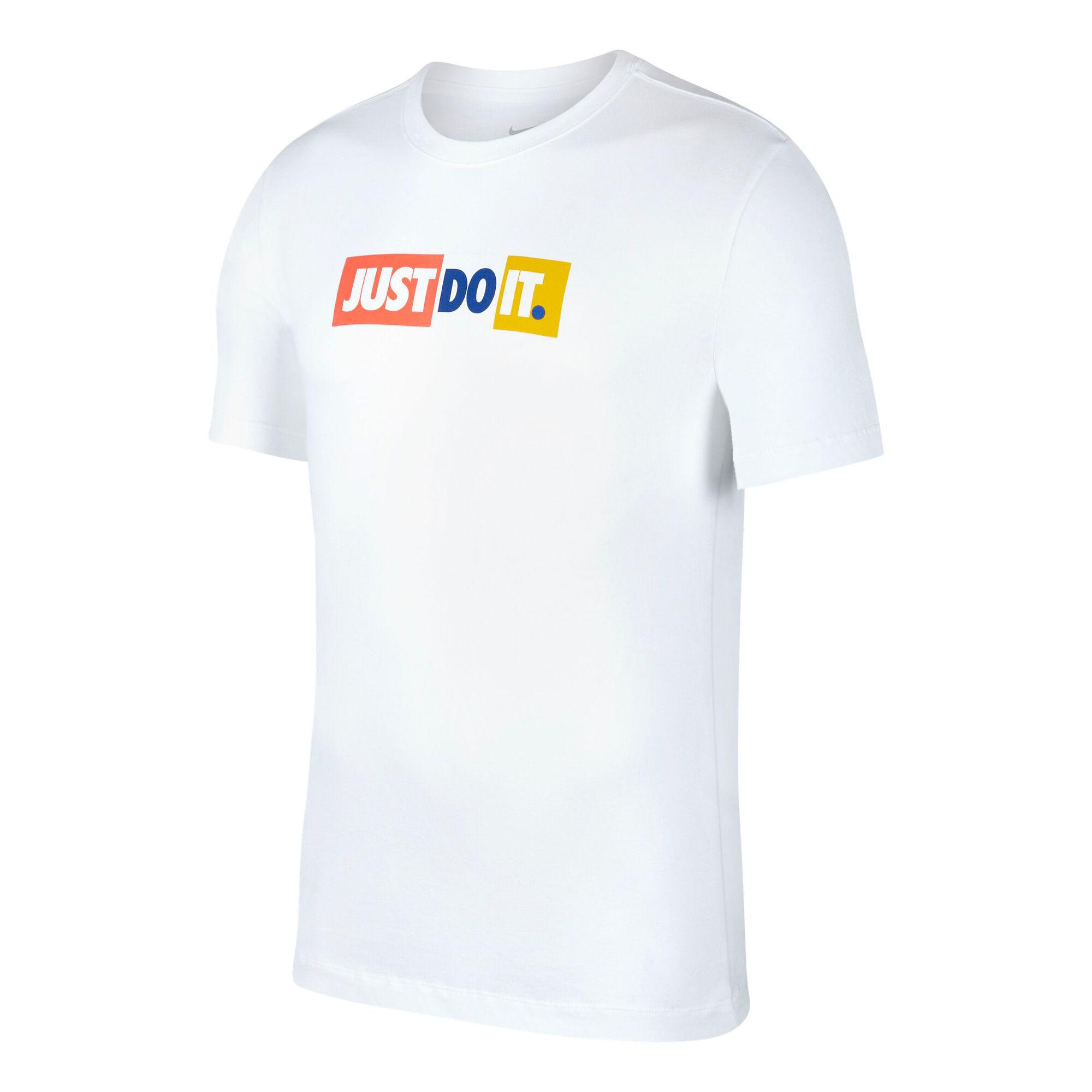 Weißes Nike T Shirt
