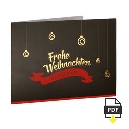 Weihnachtsgutschein 5 EUR
