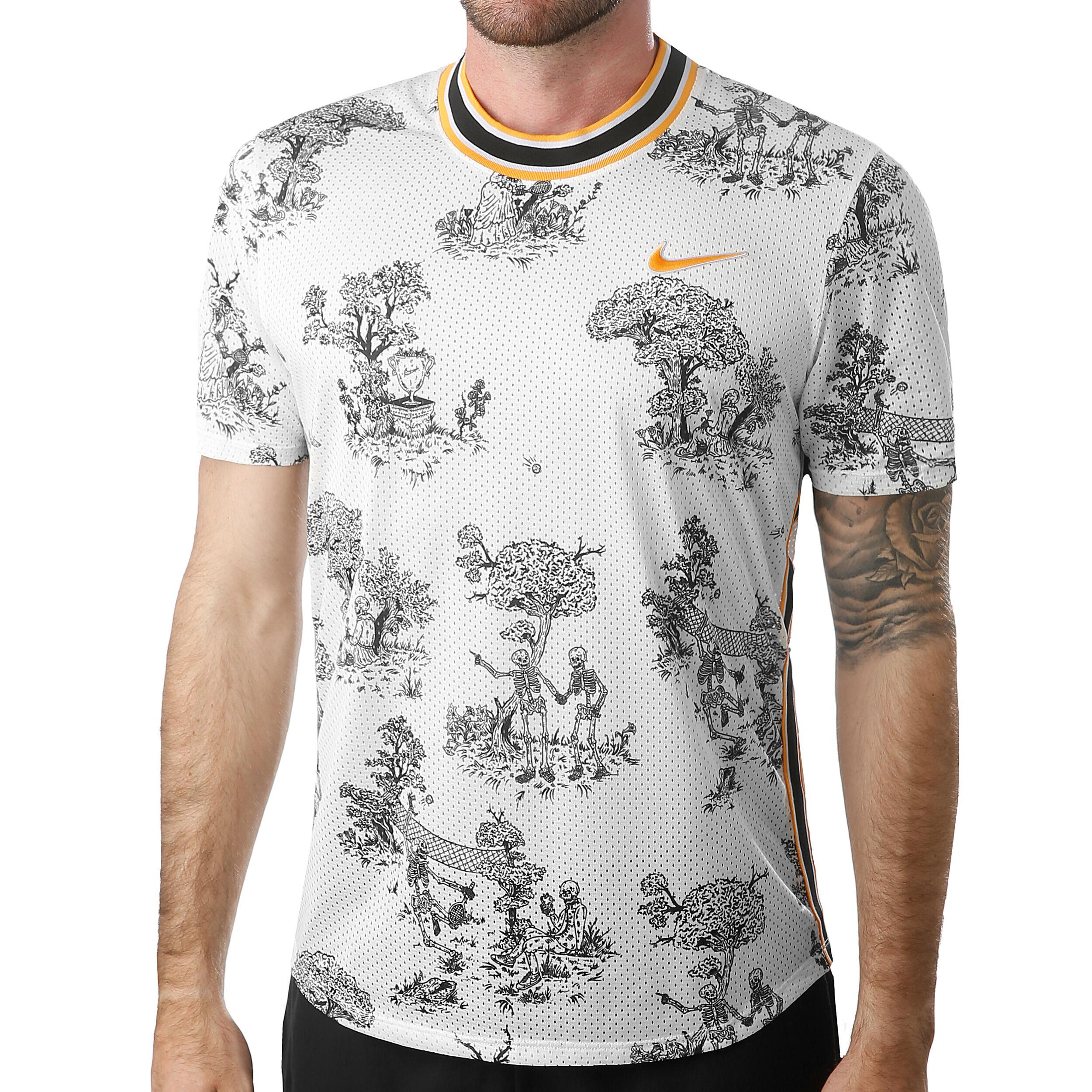 Nike Court Challenger Dri Fit Herren Creme, Schwarz online