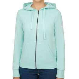 Essentials Solid Full-Zip Hoodie Women