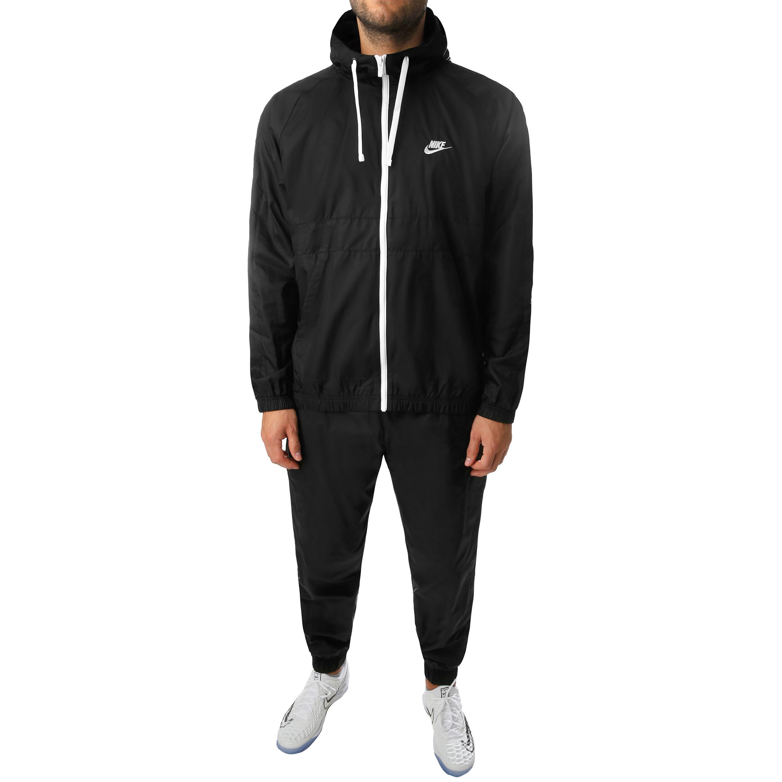 Nike Sportswear Woven Hooded Herren Schwarz, Weiß online