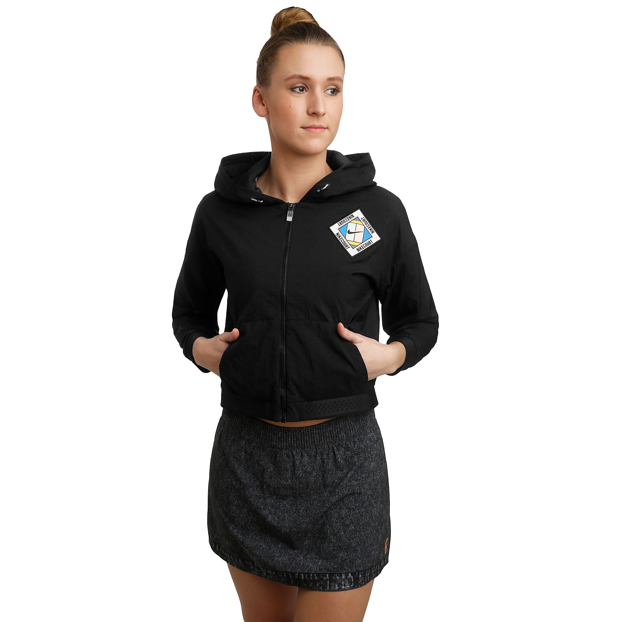 Kaufen Stadium Court SchwarzBlau Damen Nike Online iPZOkXu