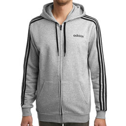 Essentials 3 Stripes Full-Zip Fleece Men