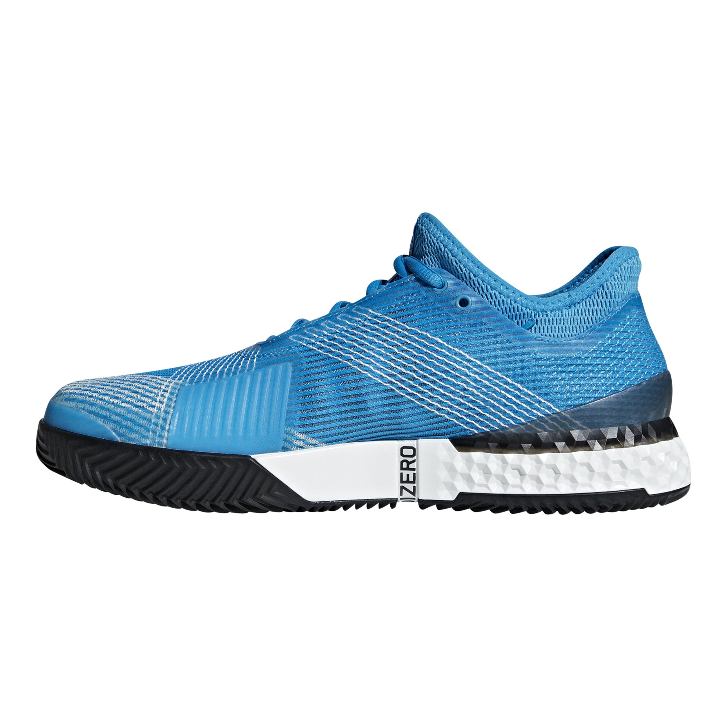 adidas Adizero Ubersonic 3 Clay Herren Blau, Weiß online