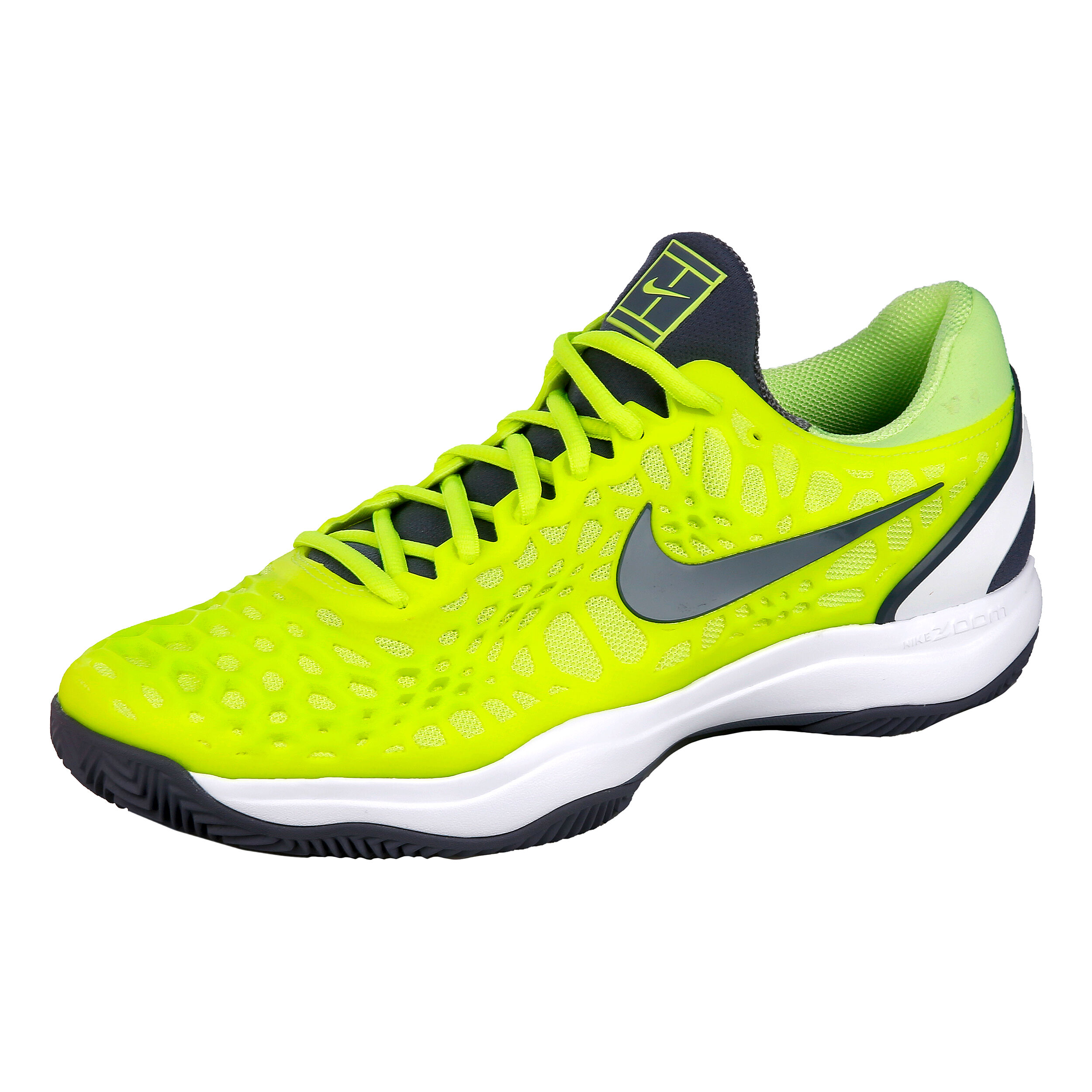 Nike Zoom Cage 3 Clay Sandplatzschuh Herren Zitronengelb