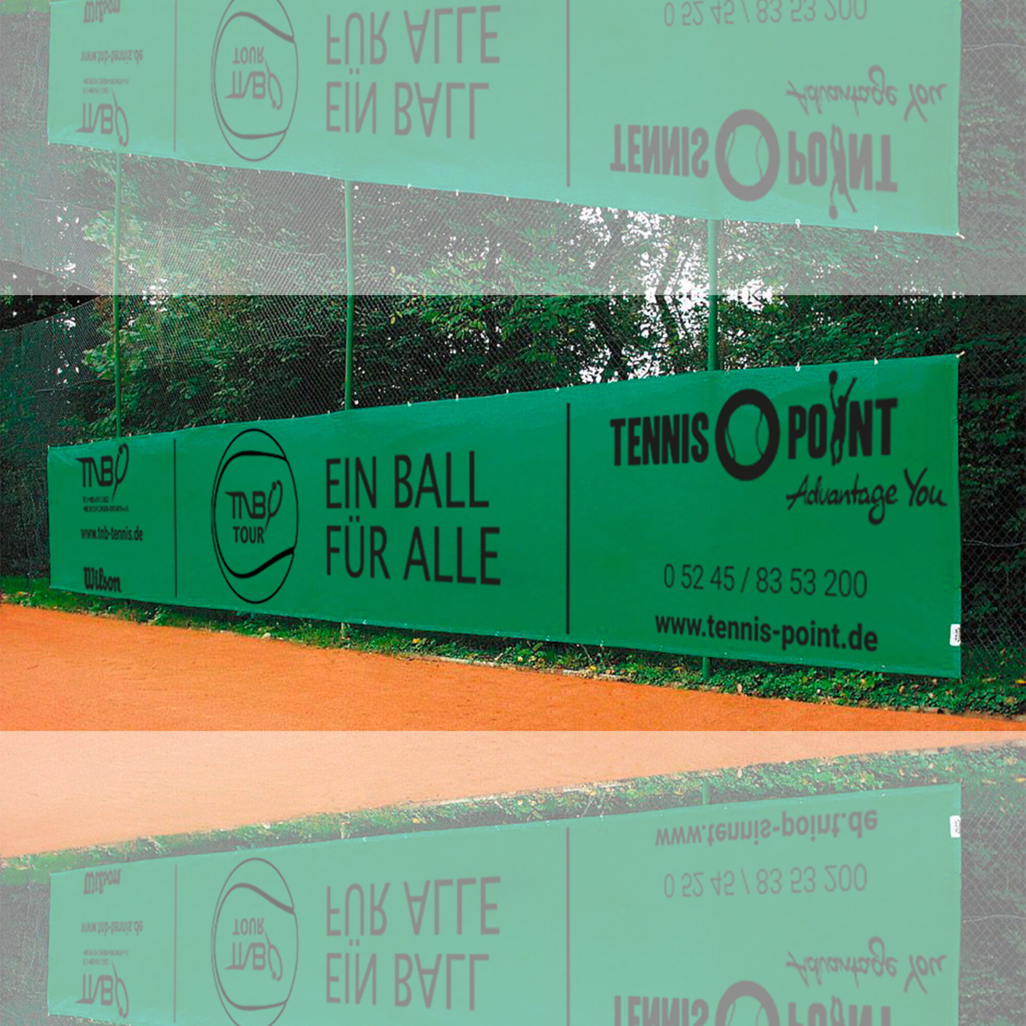 Tennis Point Tnb Sichtblende 12x2m Grun Online Kaufen Tennis Point