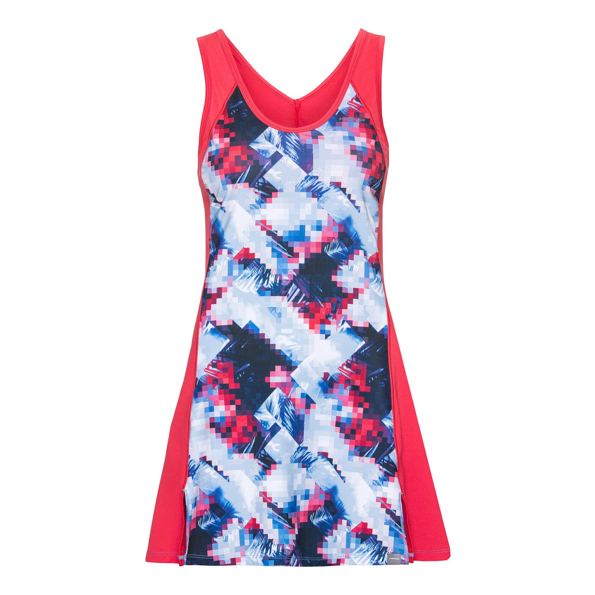 HEAD Fiona Kleid Damen - Pink, Hellblau online kaufen ...