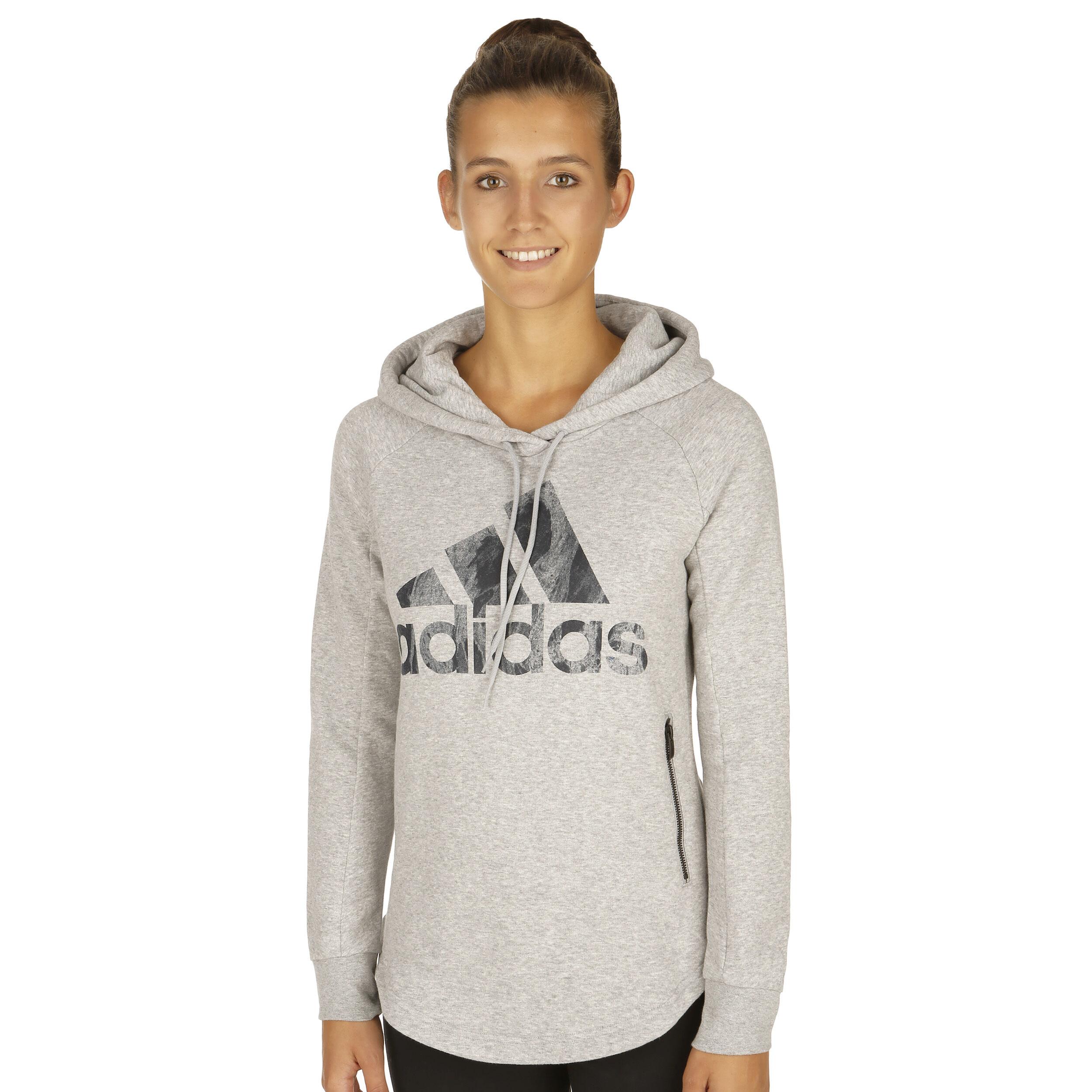 adidas Sport ID Over Head Hoody Damen Hellgrau online