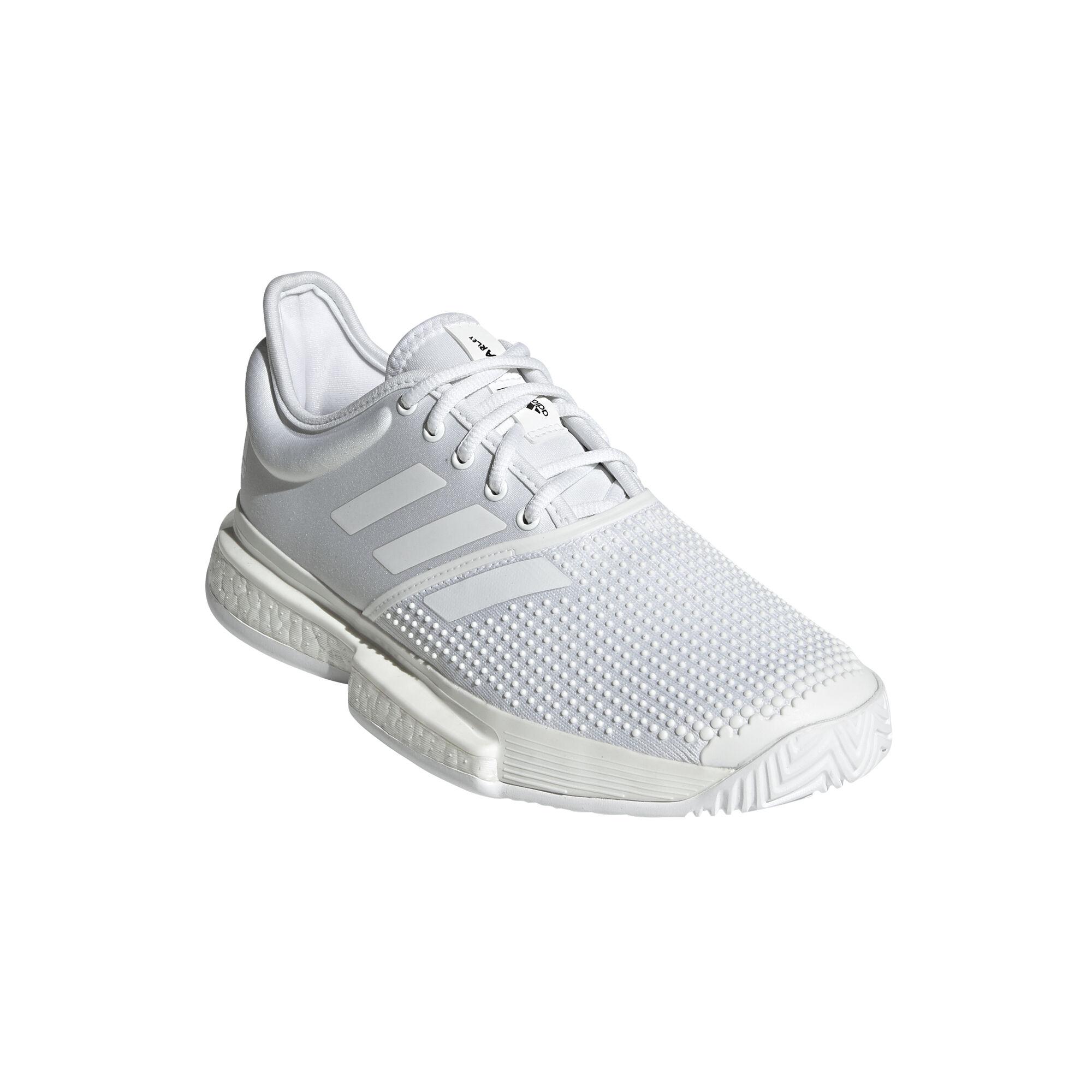 adidas Sole Court Boost X Parley Allcourtschuh Damen Weiß