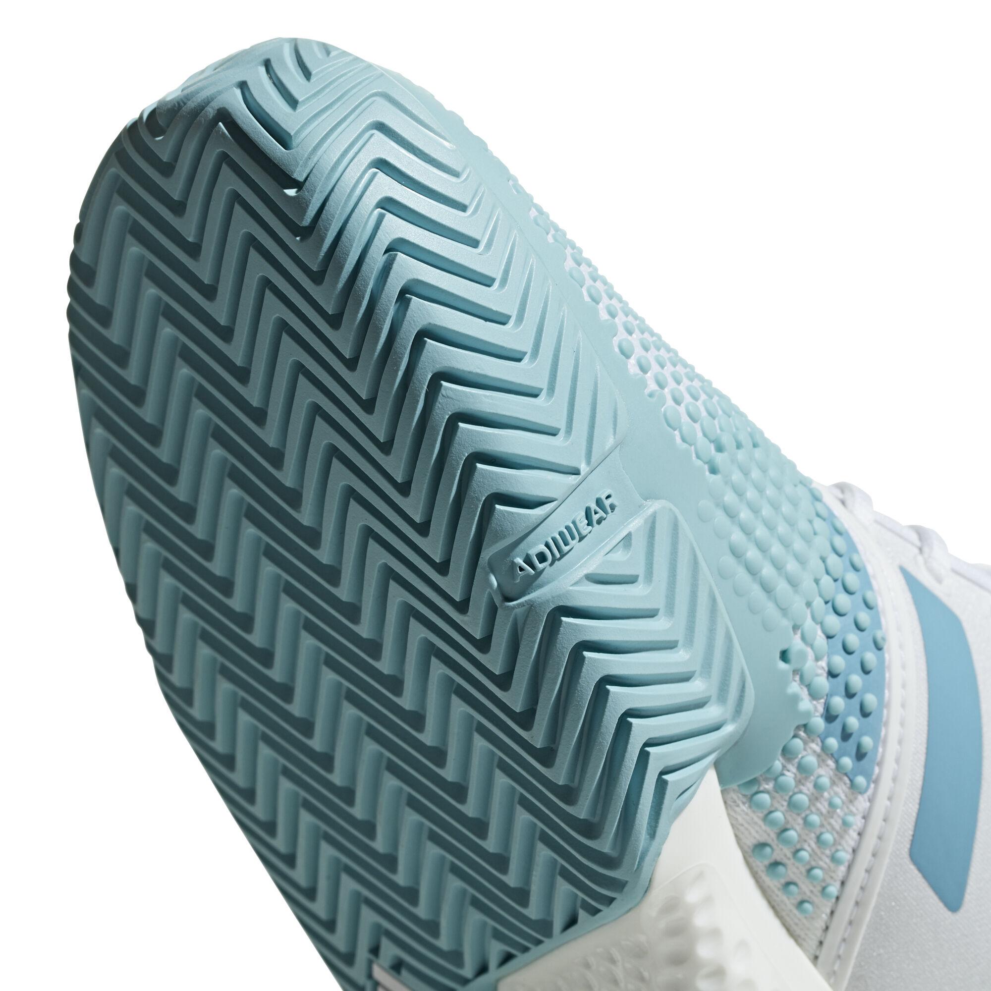 adidas SoleCourt Boost X Parley Allcourtschuh Damen Creme