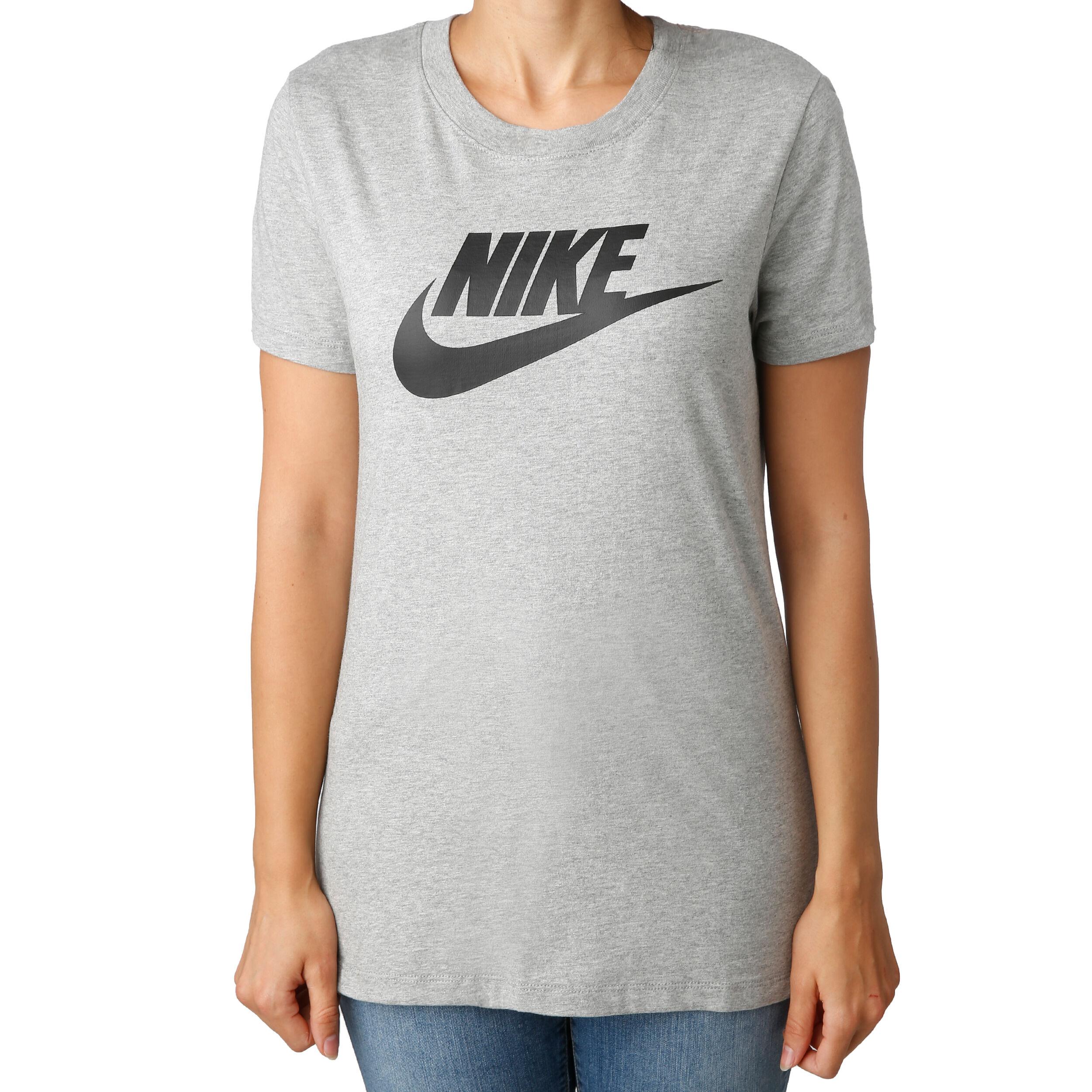 Nike Sportswear Essential Short Sleeve Damen schwarz